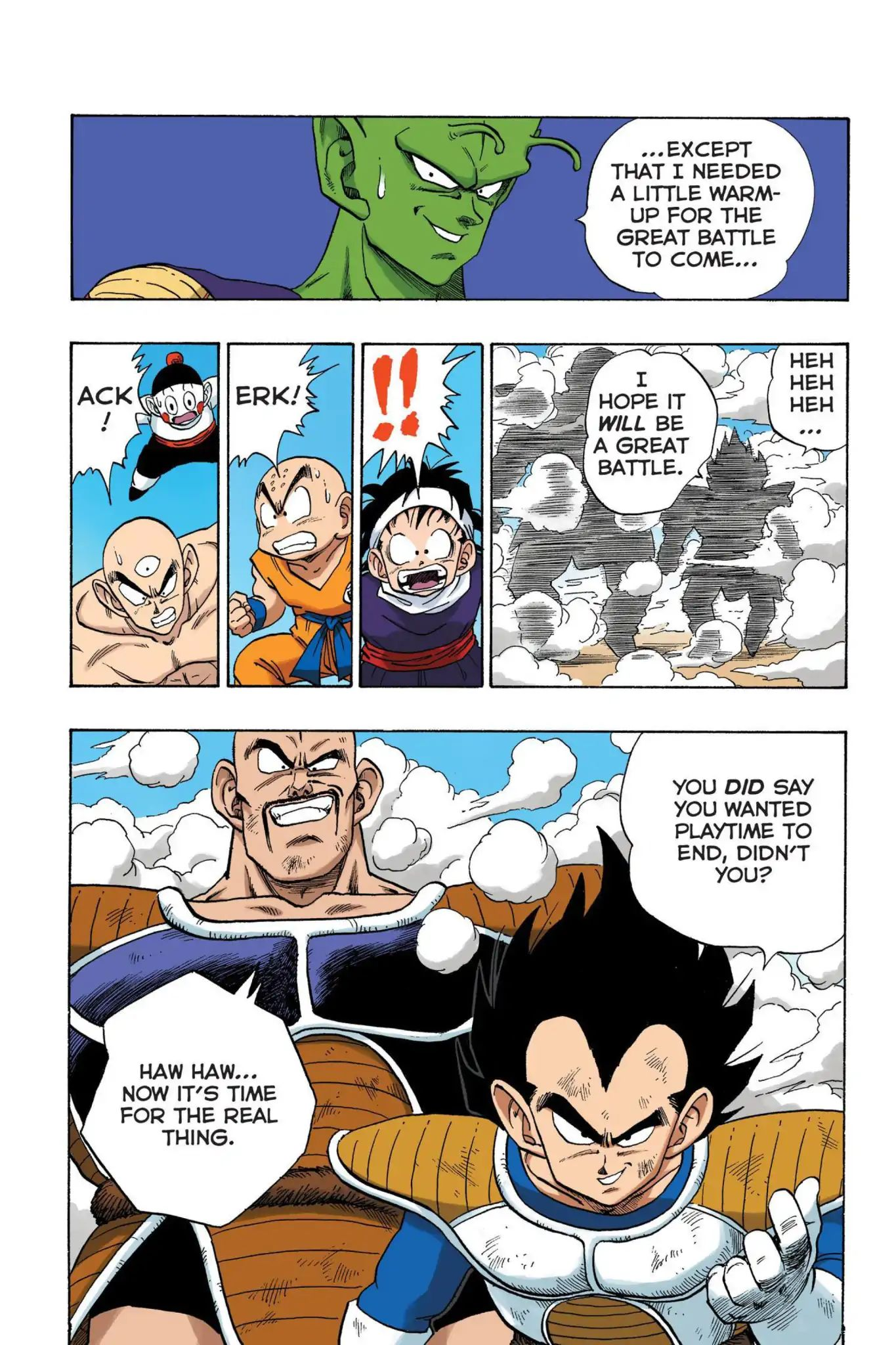 Dragon Ball Full Color Saiyan Arc Chapter 22  Online Free Manga Read Image 11