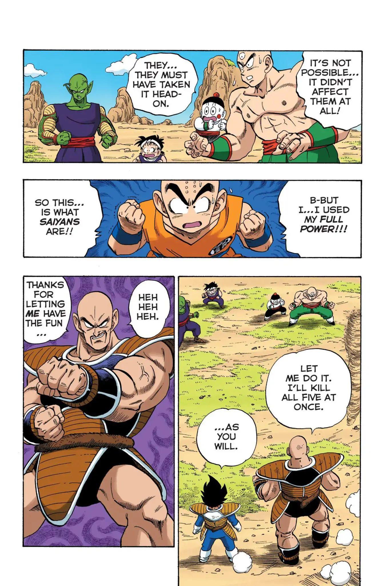 Dragon Ball Full Color Saiyan Arc Chapter 22  Online Free Manga Read Image 12
