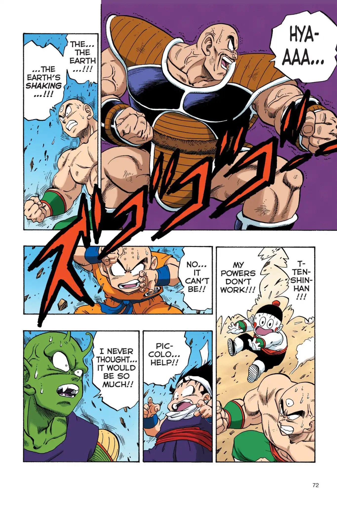 Dragon Ball Full Color Saiyan Arc Chapter 22  Online Free Manga Read Image 13