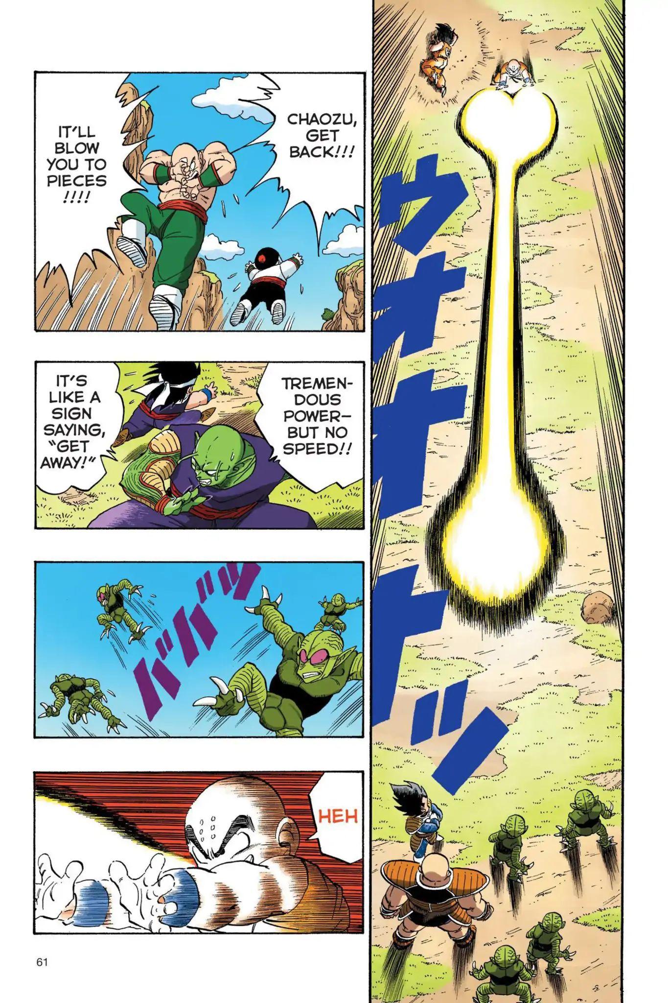 Dragon Ball Full Color Saiyan Arc Chapter 22  Online Free Manga Read Image 2