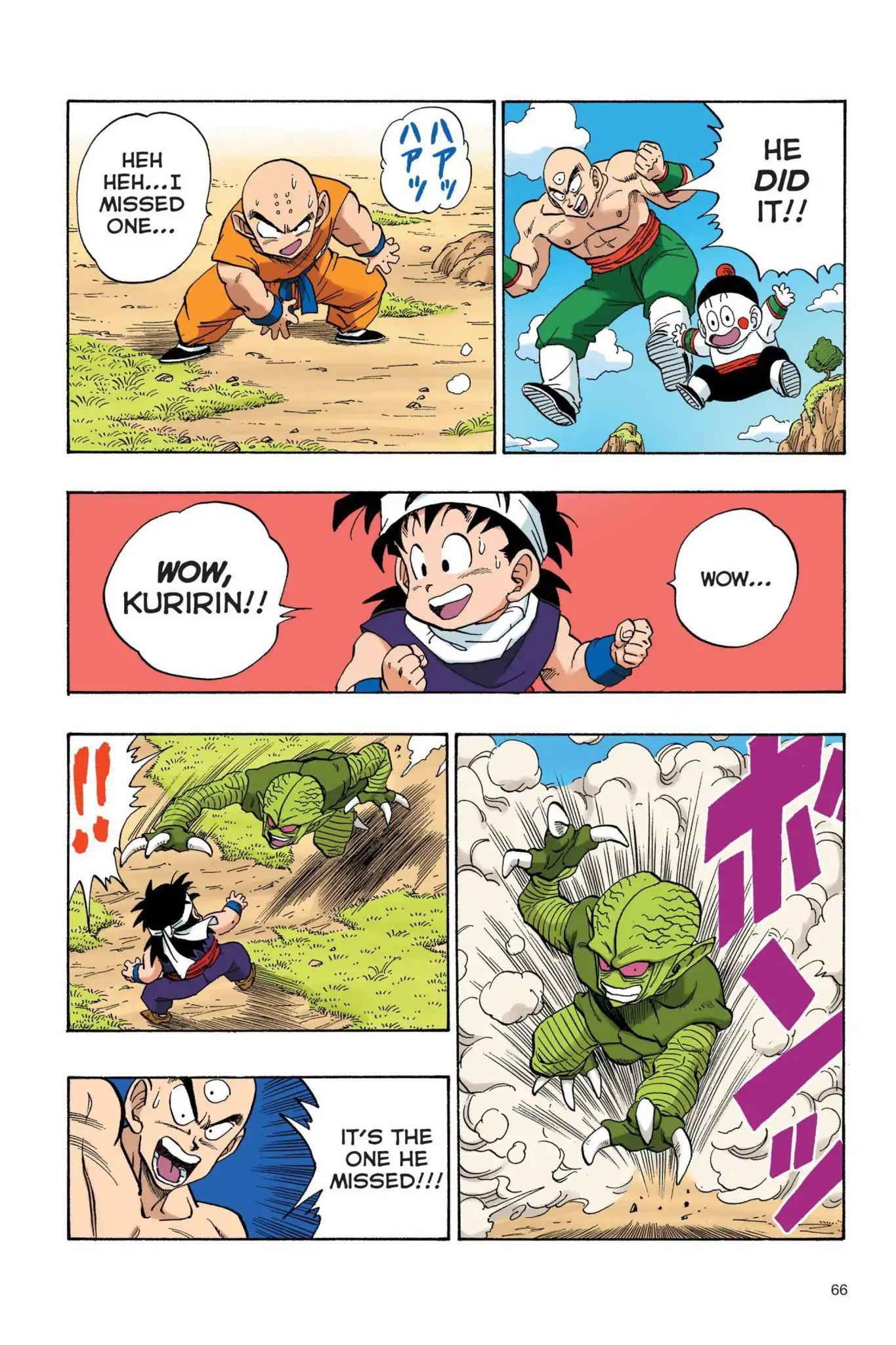 Dragon Ball Full Color Saiyan Arc Chapter 22  Online Free Manga Read Image 7