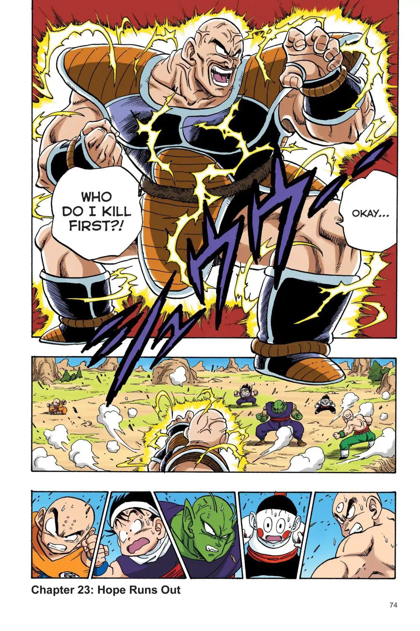Dragon Ball Full Color Saiyan Arc Chapter 23  Online Free Manga Read Image 1