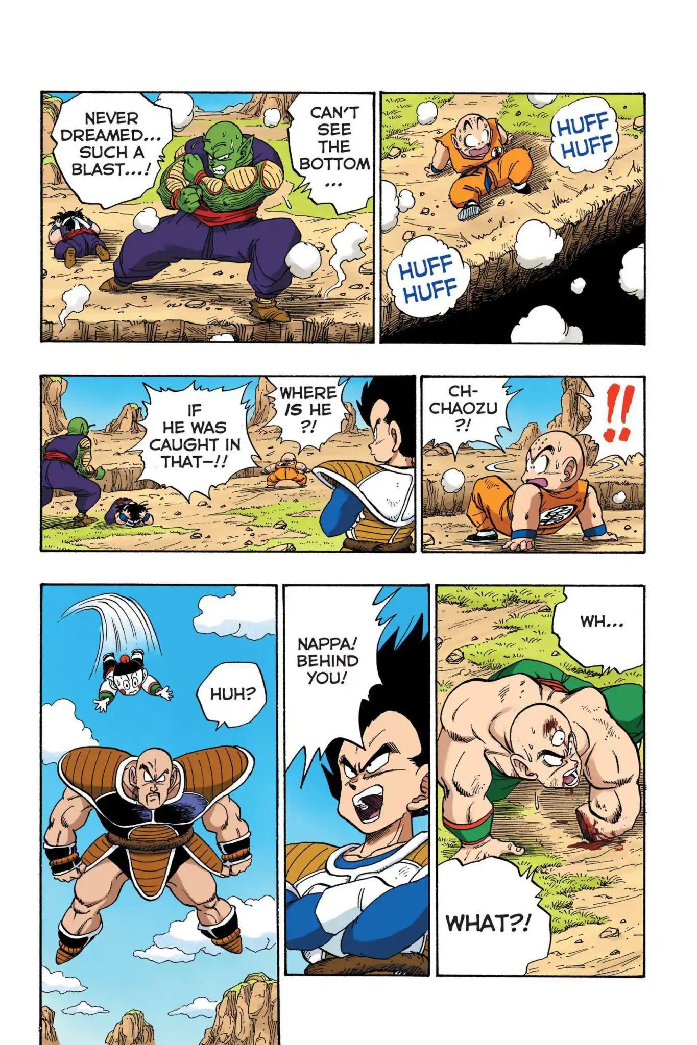 Dragon Ball Full Color Saiyan Arc Chapter 23  Online Free Manga Read Image 10