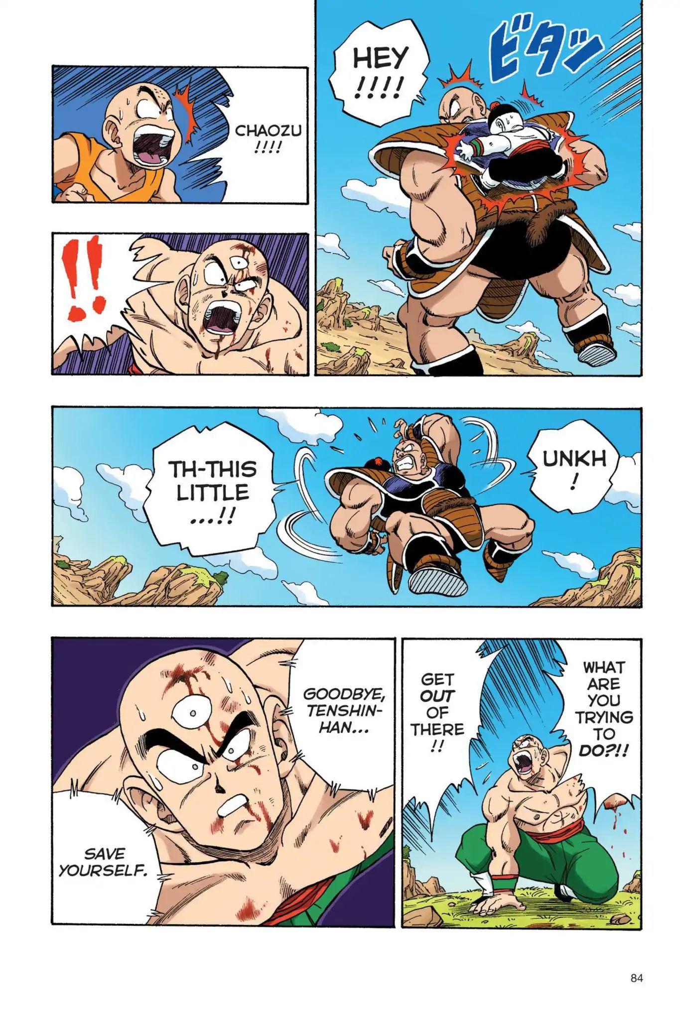 Dragon Ball Full Color Saiyan Arc Chapter 23  Online Free Manga Read Image 11