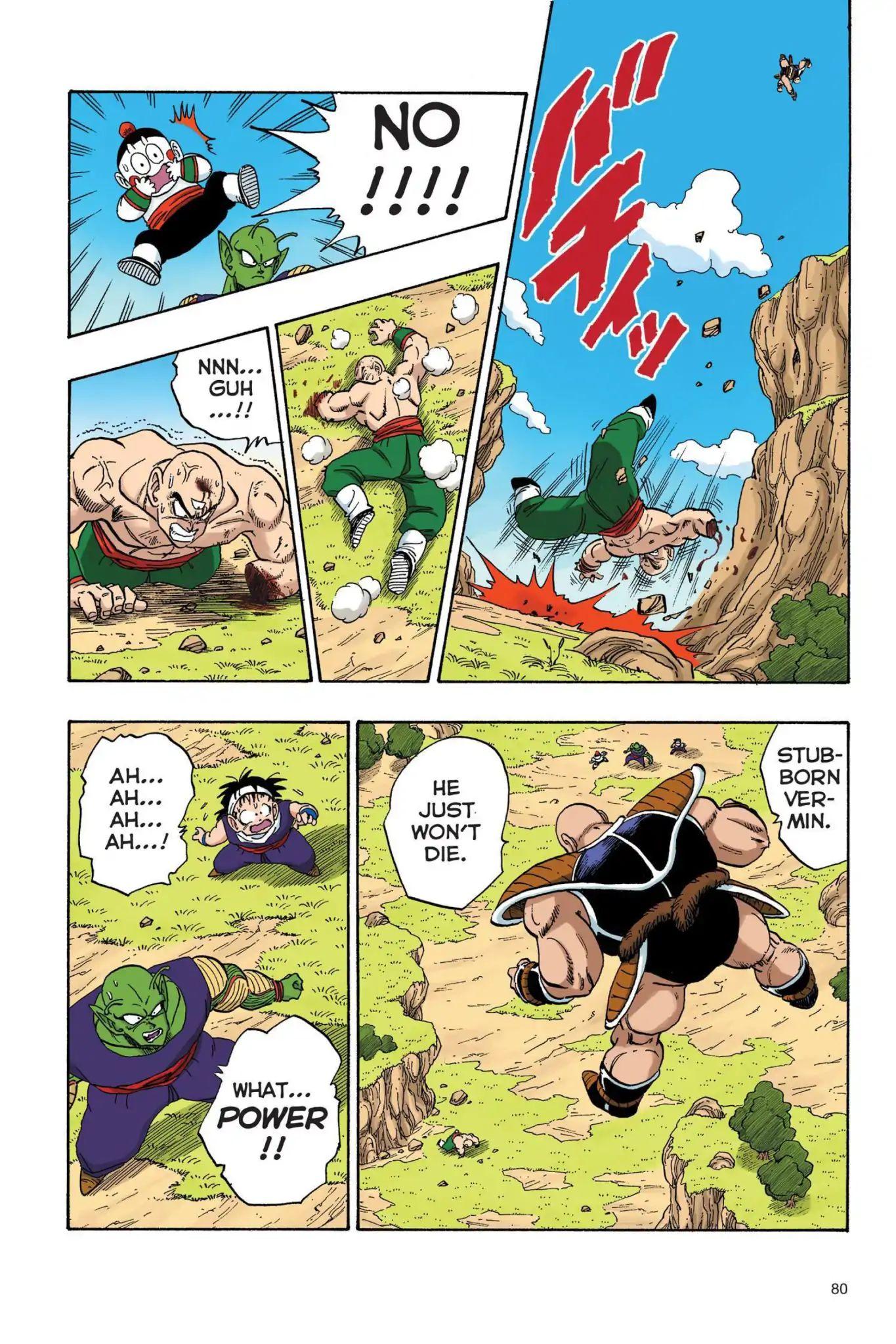 Dragon Ball Full Color Saiyan Arc Chapter 23  Online Free Manga Read Image 7