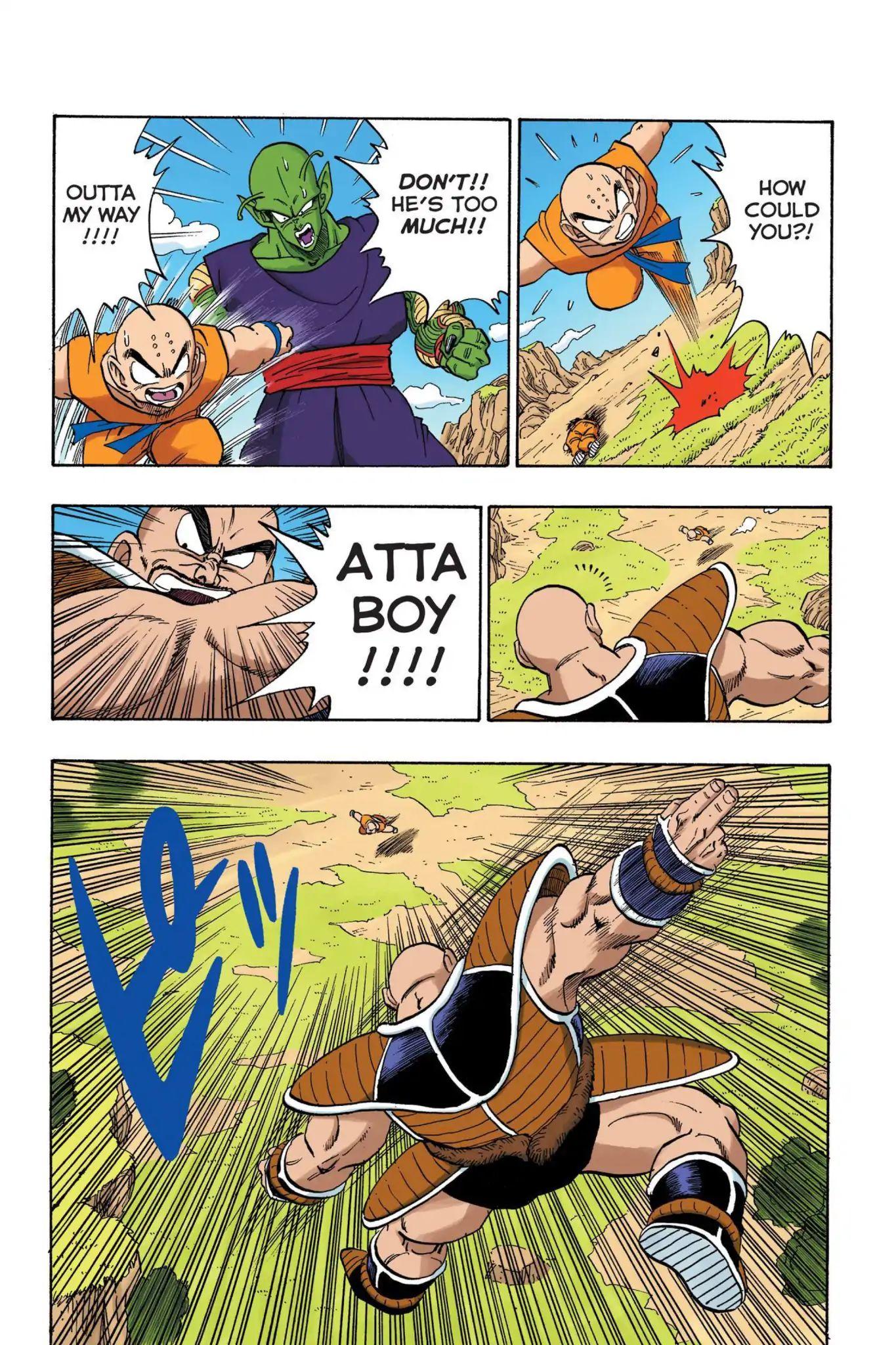 Dragon Ball Full Color Saiyan Arc Chapter 23  Online Free Manga Read Image 8
