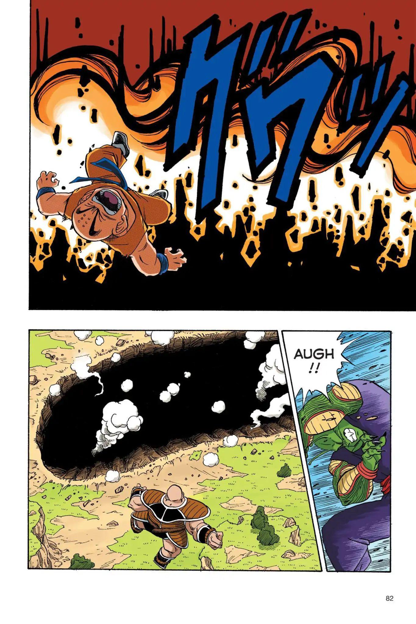 Dragon Ball Full Color Saiyan Arc Chapter 23  Online Free Manga Read Image 9