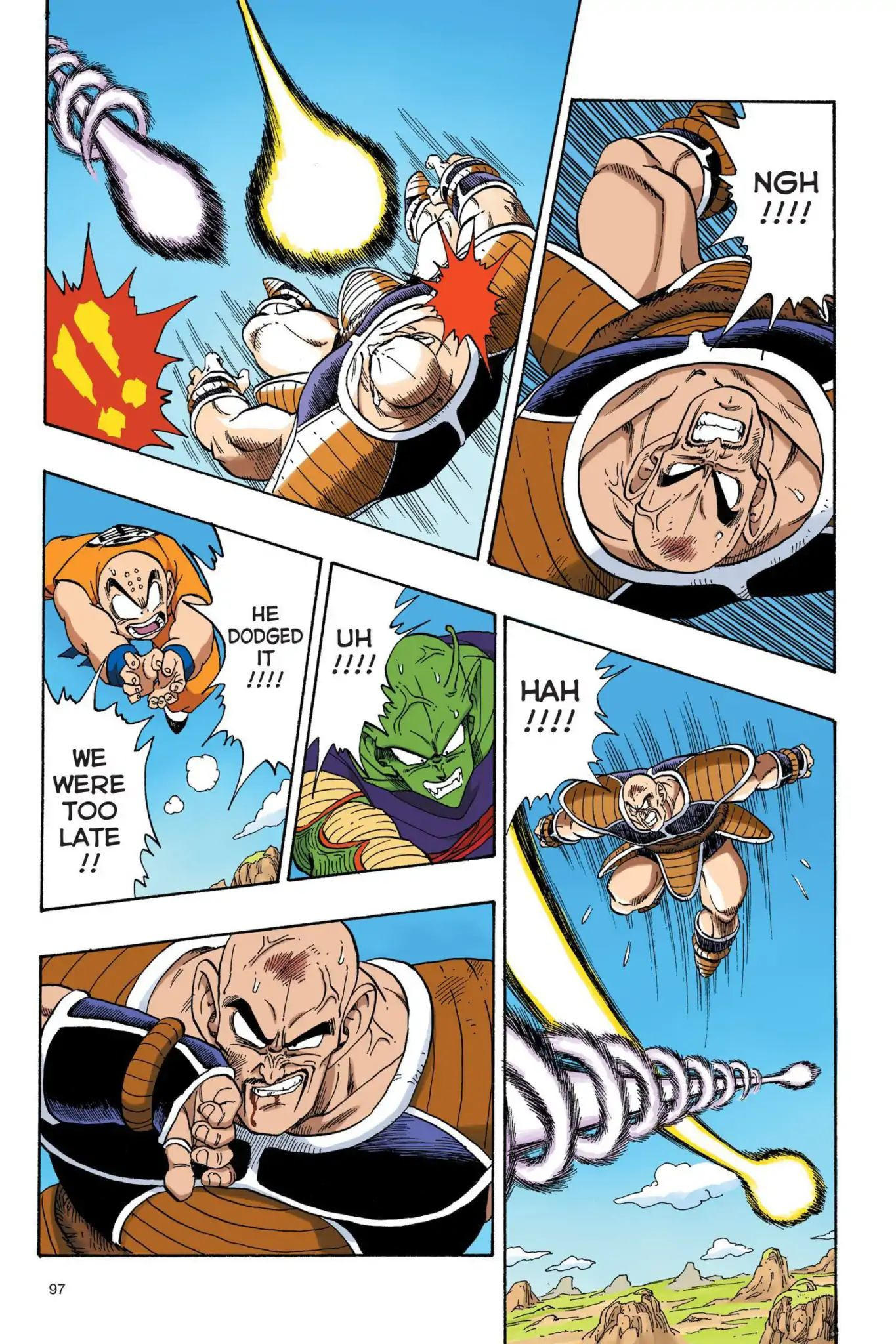 Dragon Ball Full Color Saiyan Arc Chapter 24  Online Free Manga Read Image 10