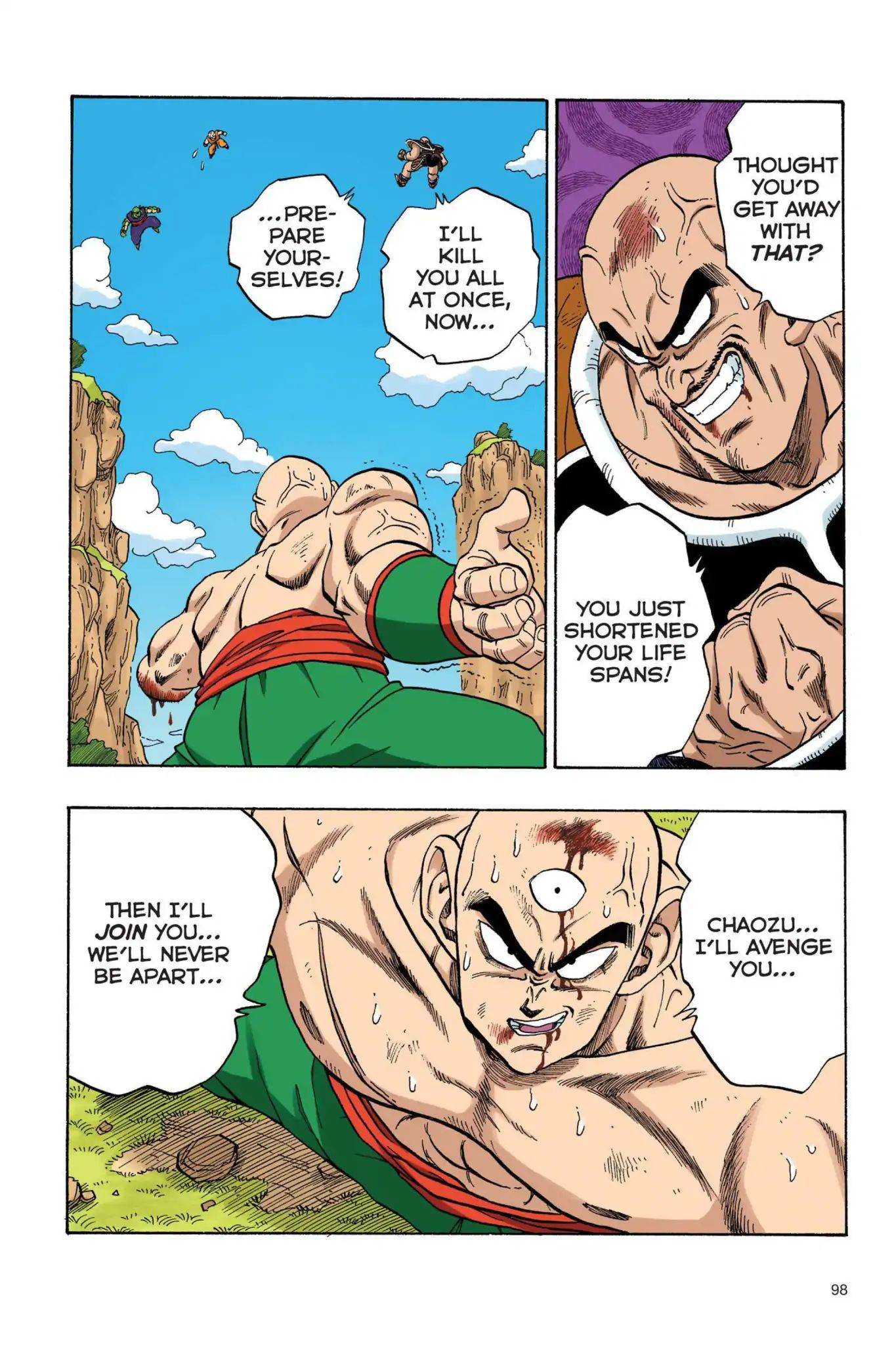 Dragon Ball Full Color Saiyan Arc Chapter 24  Online Free Manga Read Image 11
