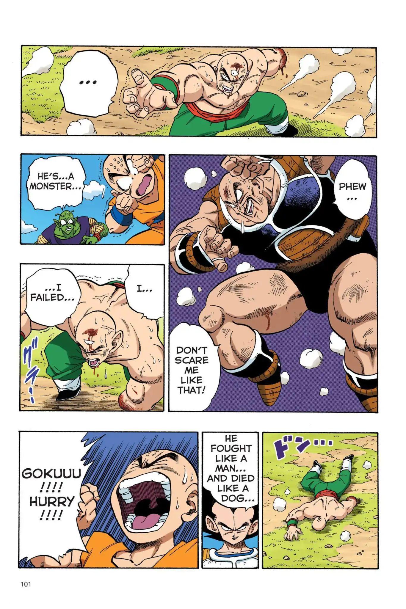 Dragon Ball Full Color Saiyan Arc Chapter 24  Online Free Manga Read Image 14