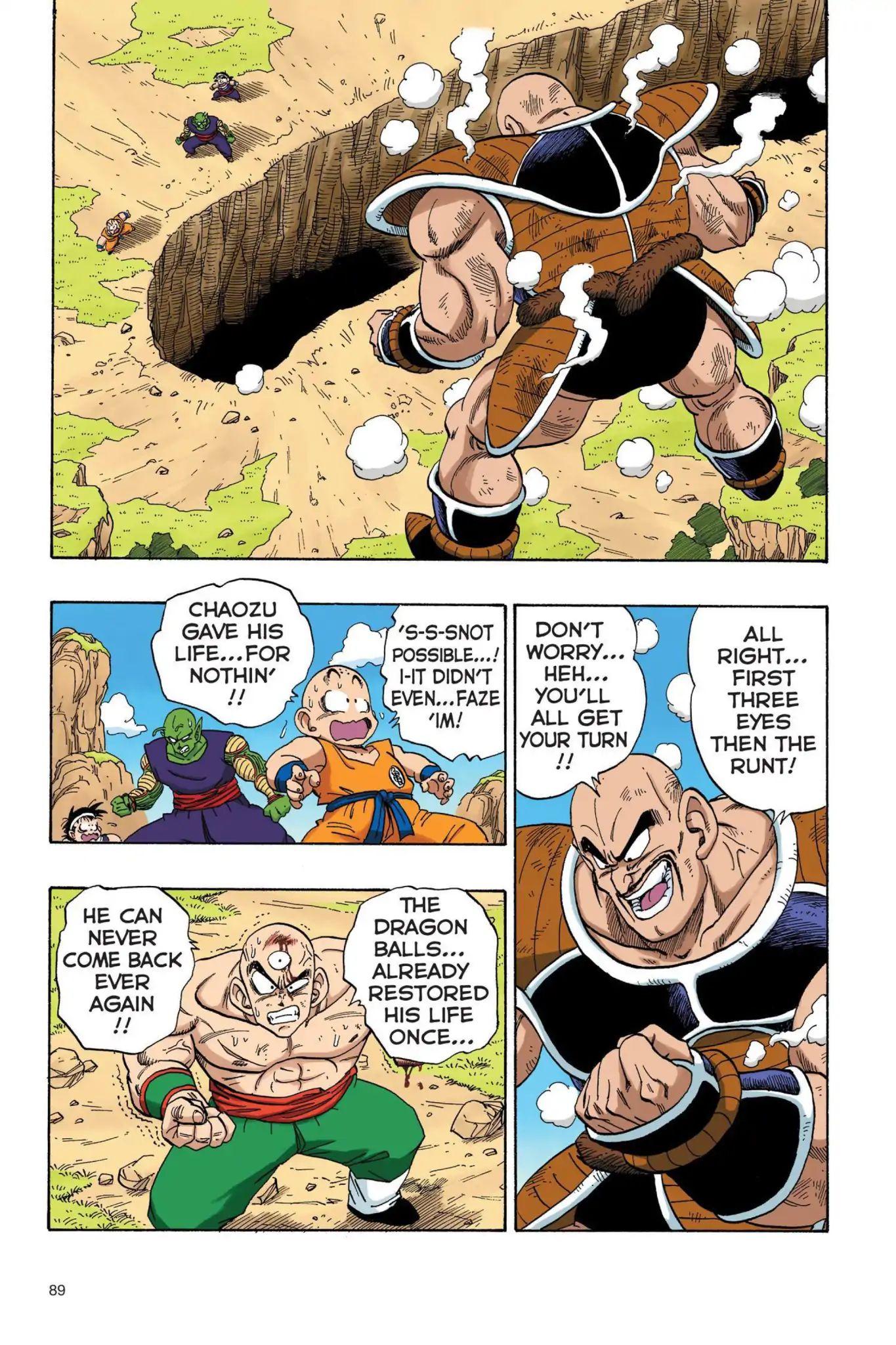 Dragon Ball Full Color Saiyan Arc Chapter 24  Online Free Manga Read Image 2