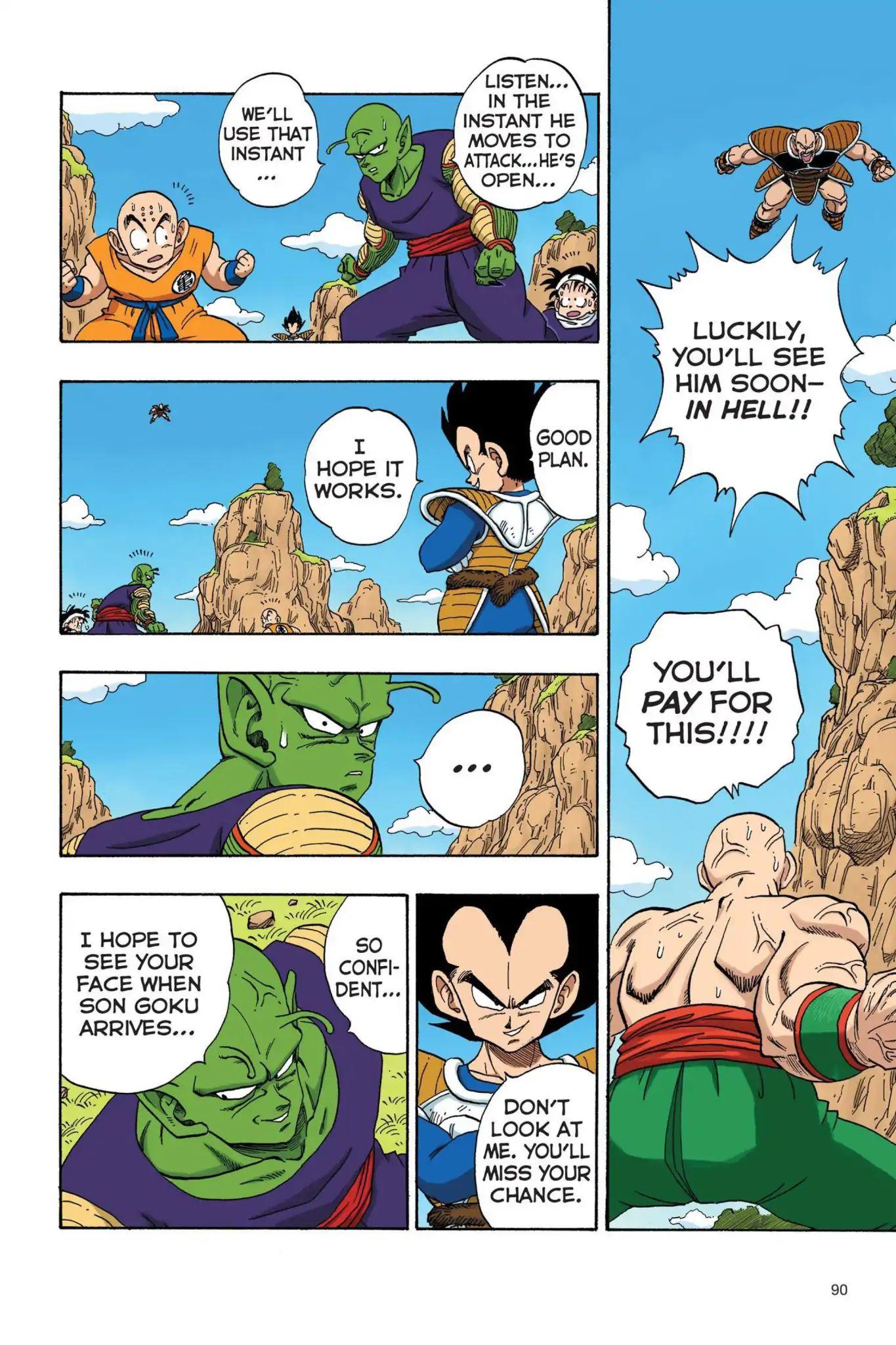 Dragon Ball Full Color Saiyan Arc Chapter 24  Online Free Manga Read Image 3