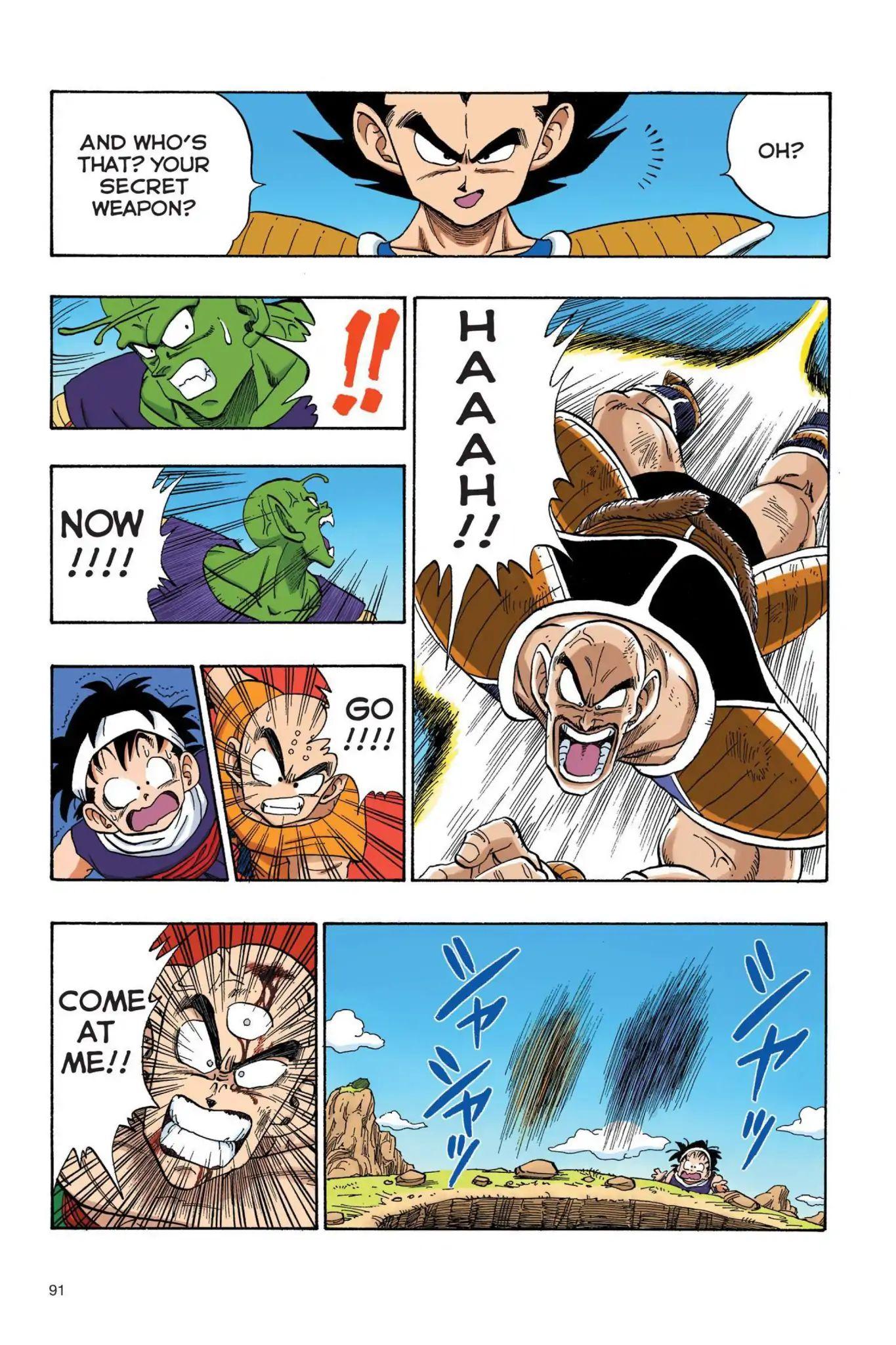 Dragon Ball Full Color Saiyan Arc Chapter 24  Online Free Manga Read Image 4