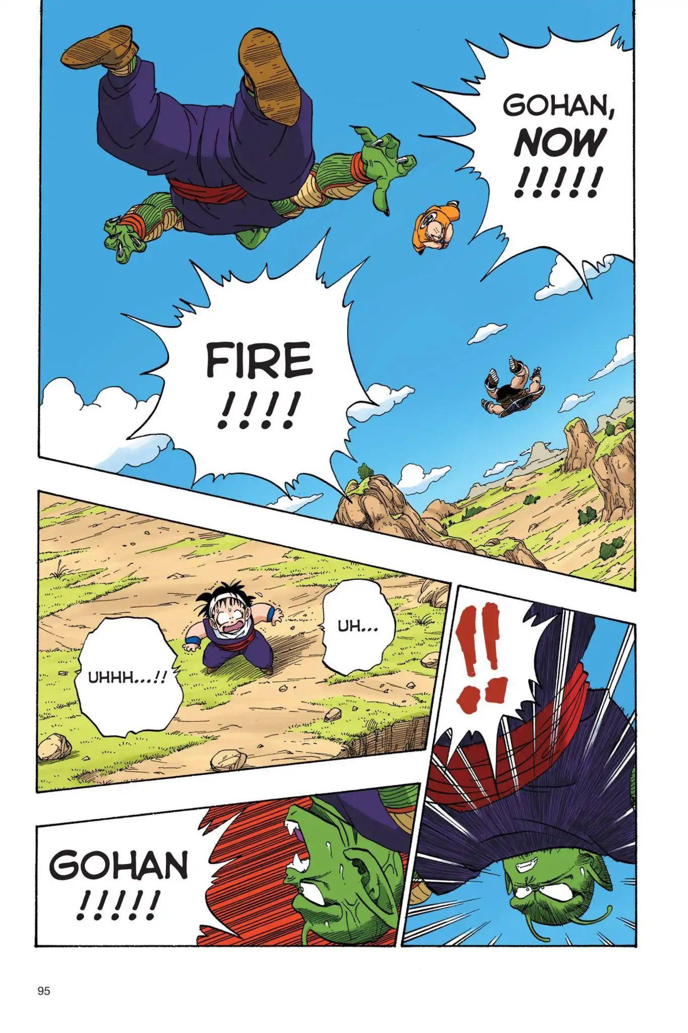 Dragon Ball Full Color Saiyan Arc Chapter 24  Online Free Manga Read Image 8