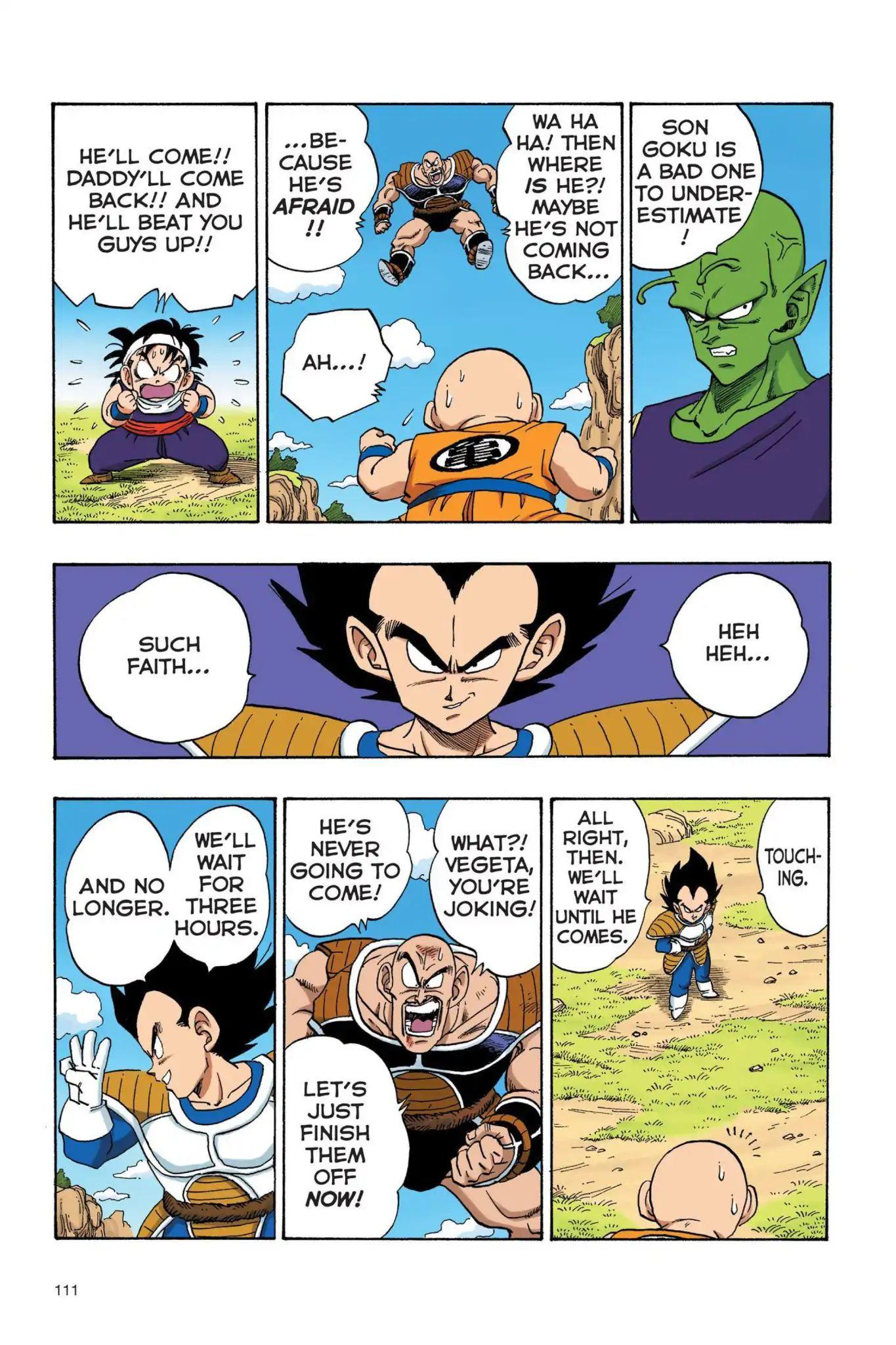 Dragon Ball Full Color Saiyan Arc Chapter 25  Online Free Manga Read Image 10