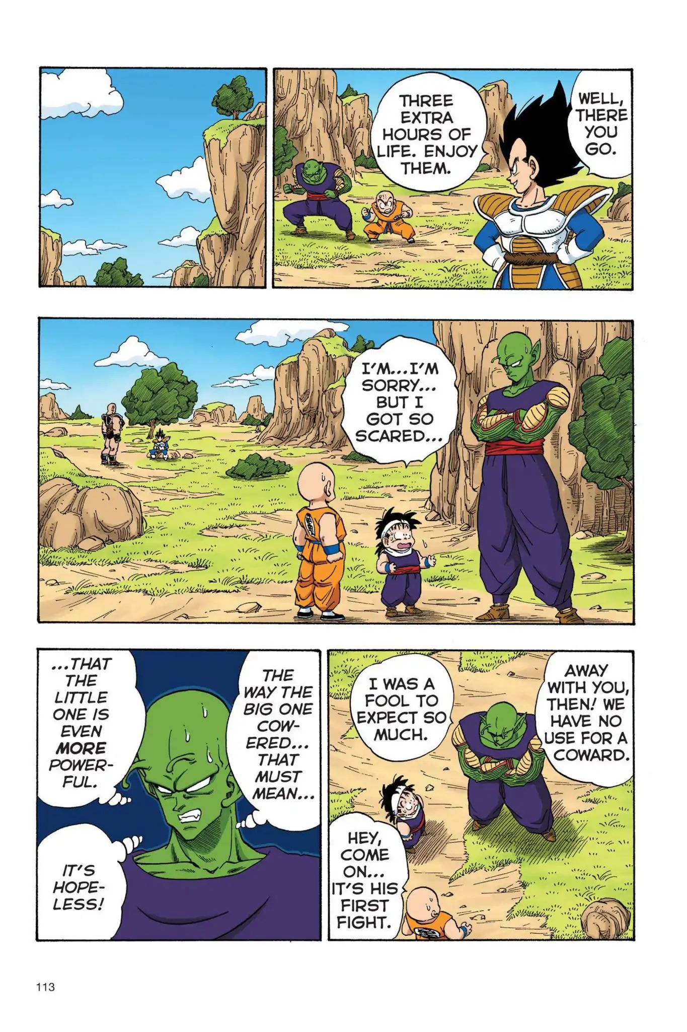 Dragon Ball Full Color Saiyan Arc Chapter 25  Online Free Manga Read Image 12