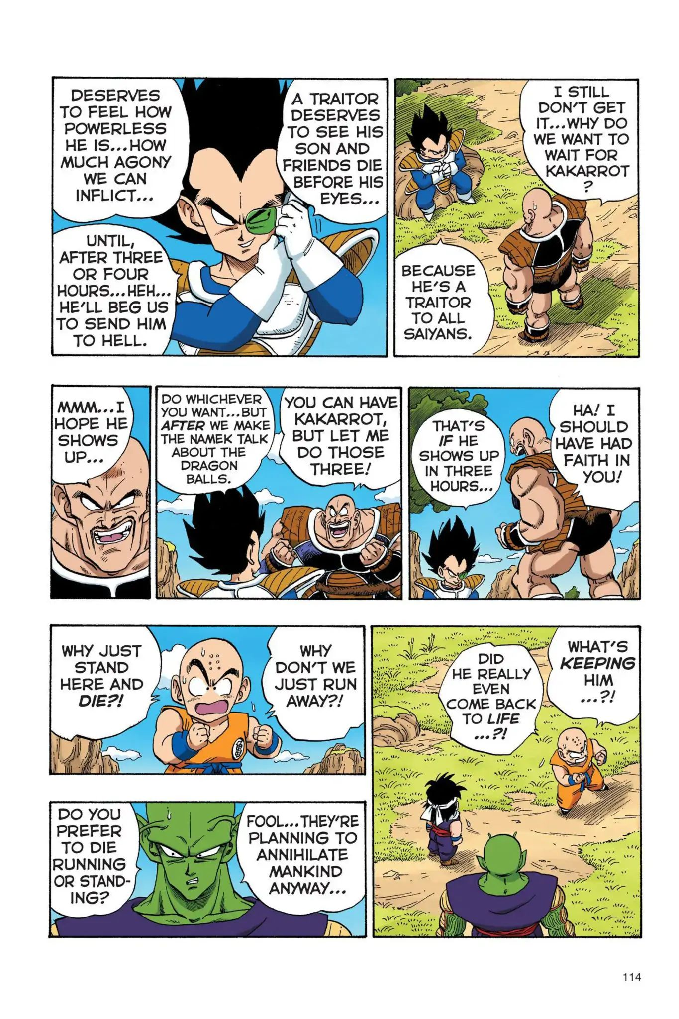 Dragon Ball Full Color Saiyan Arc Chapter 25  Online Free Manga Read Image 13