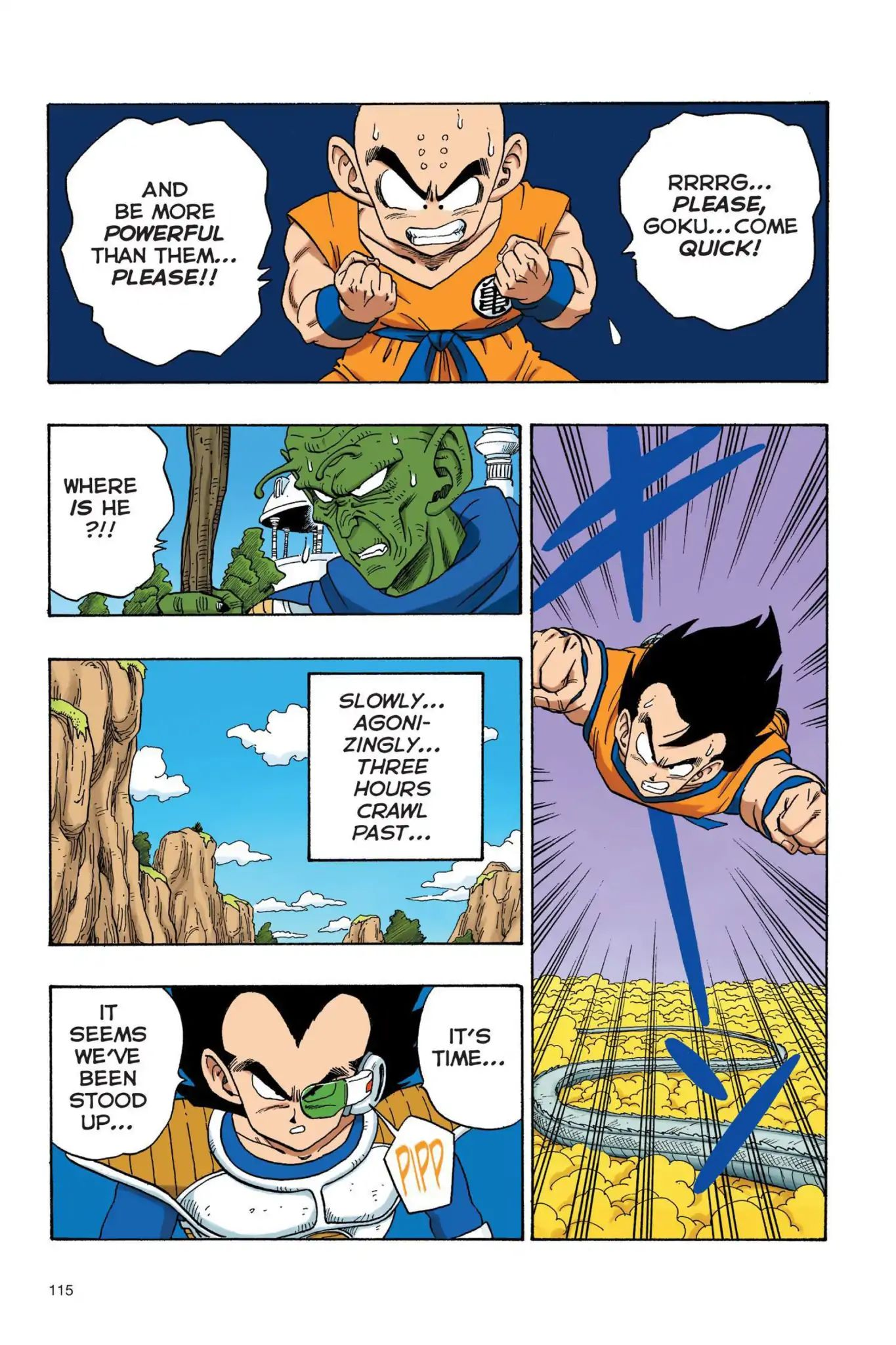 Dragon Ball Full Color Saiyan Arc Chapter 25  Online Free Manga Read Image 14