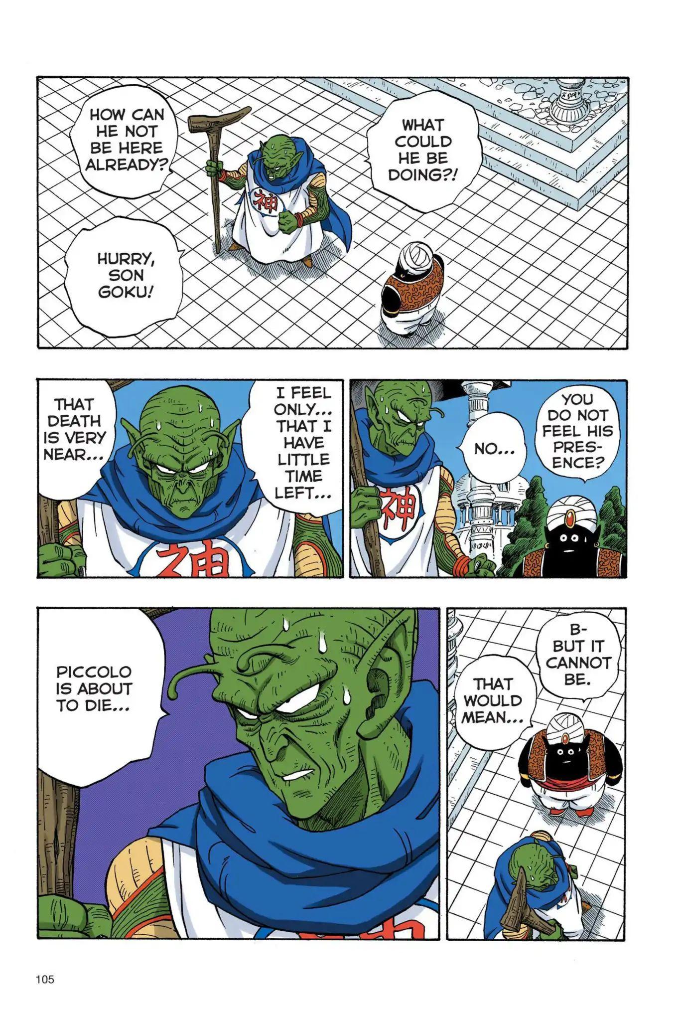 Dragon Ball Full Color Saiyan Arc Chapter 25  Online Free Manga Read Image 4