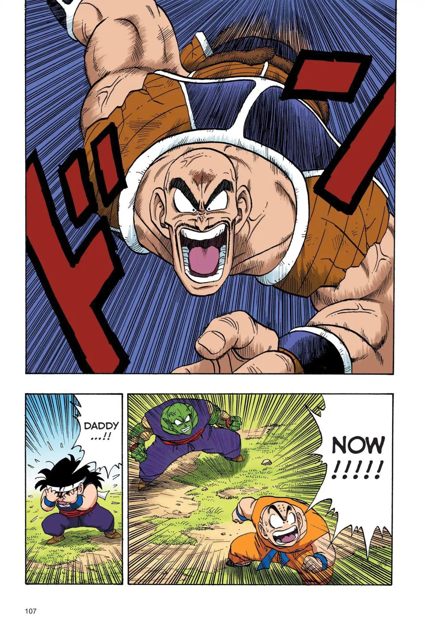 Dragon Ball Full Color Saiyan Arc Chapter 25  Online Free Manga Read Image 6