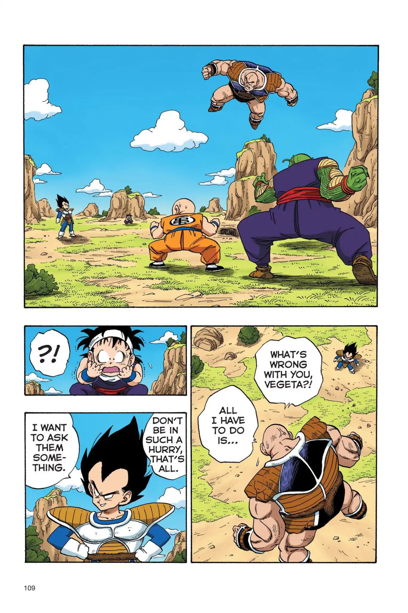 Dragon Ball Full Color Saiyan Arc Chapter 25  Online Free Manga Read Image 8