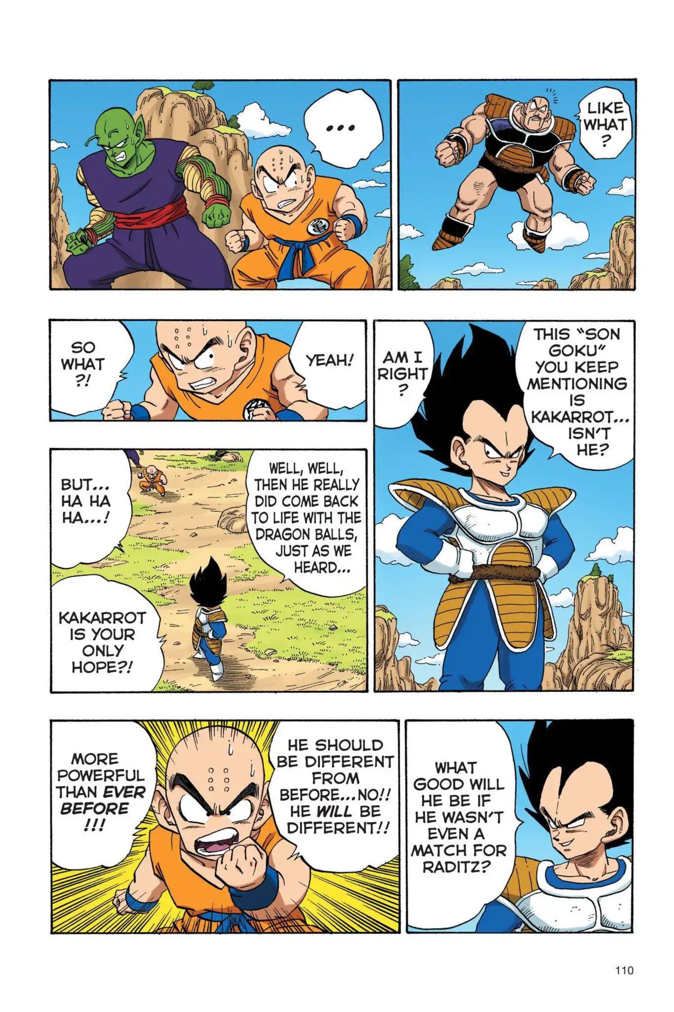 Dragon Ball Full Color Saiyan Arc Chapter 25  Online Free Manga Read Image 9
