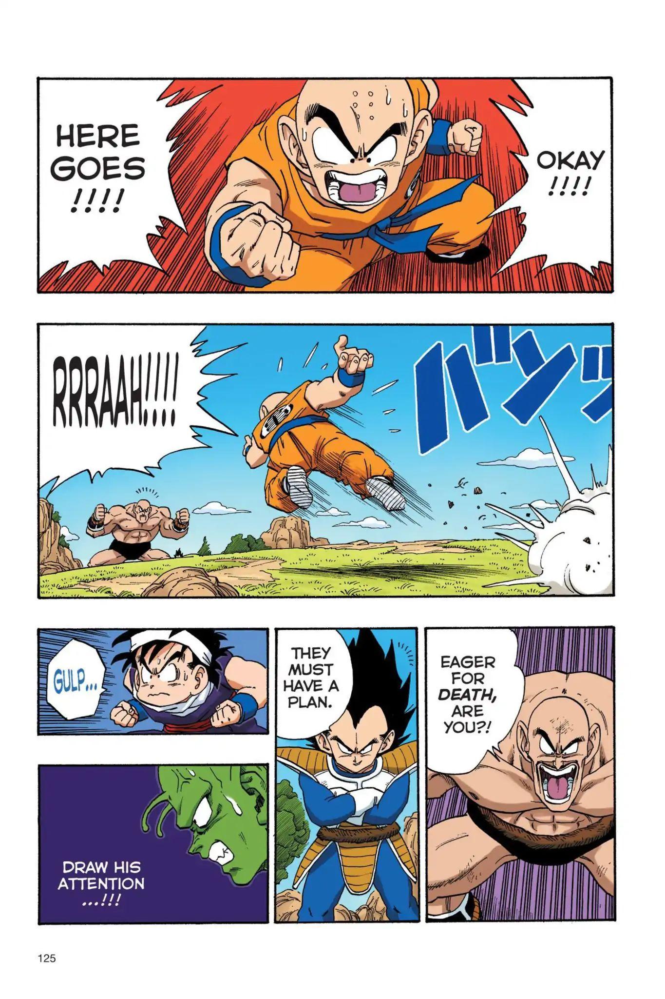 Dragon Ball Full Color Saiyan Arc Chapter 26  Online Free Manga Read Image 10