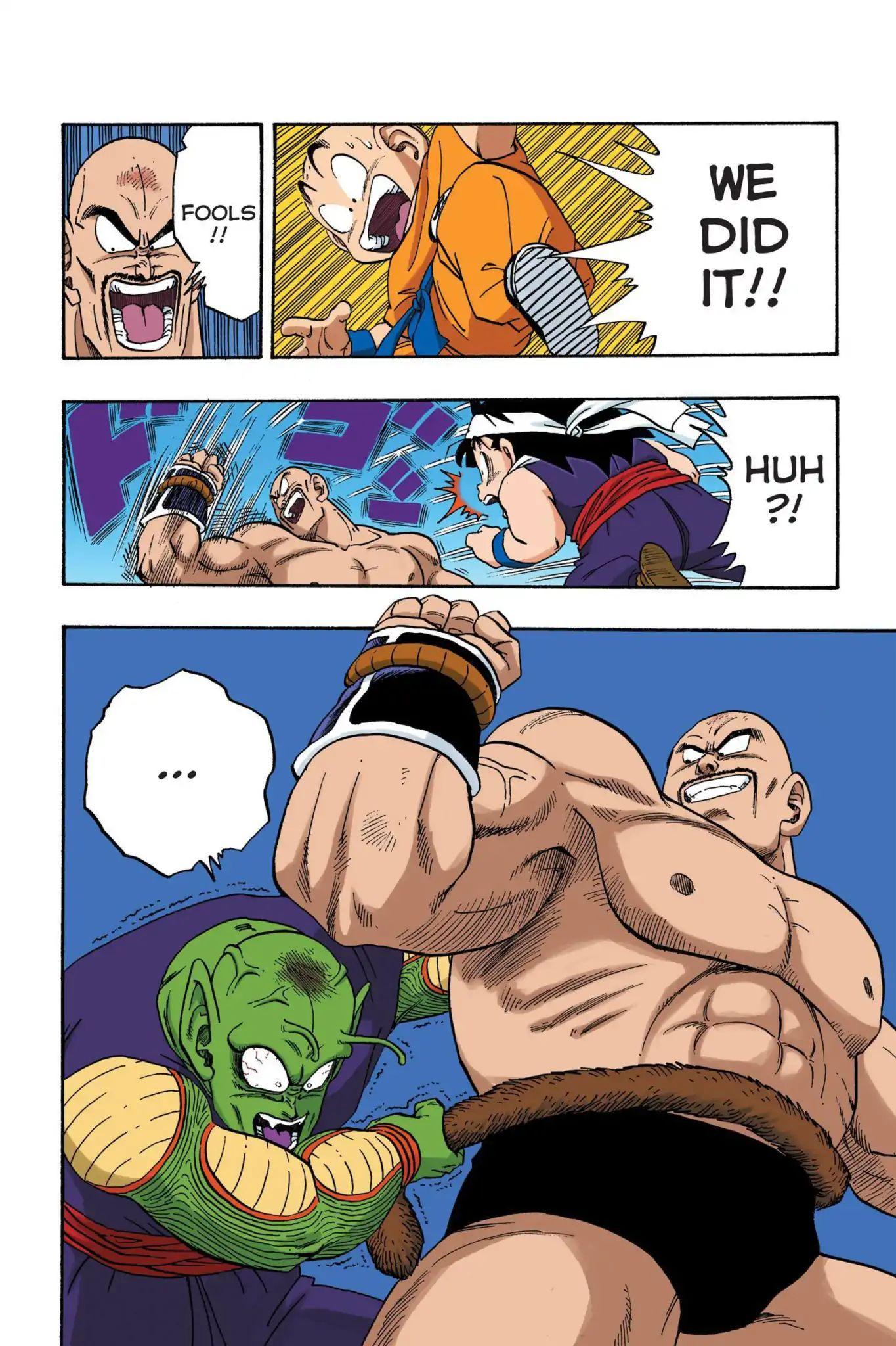 Dragon Ball Full Color Saiyan Arc Chapter 26  Online Free Manga Read Image 13
