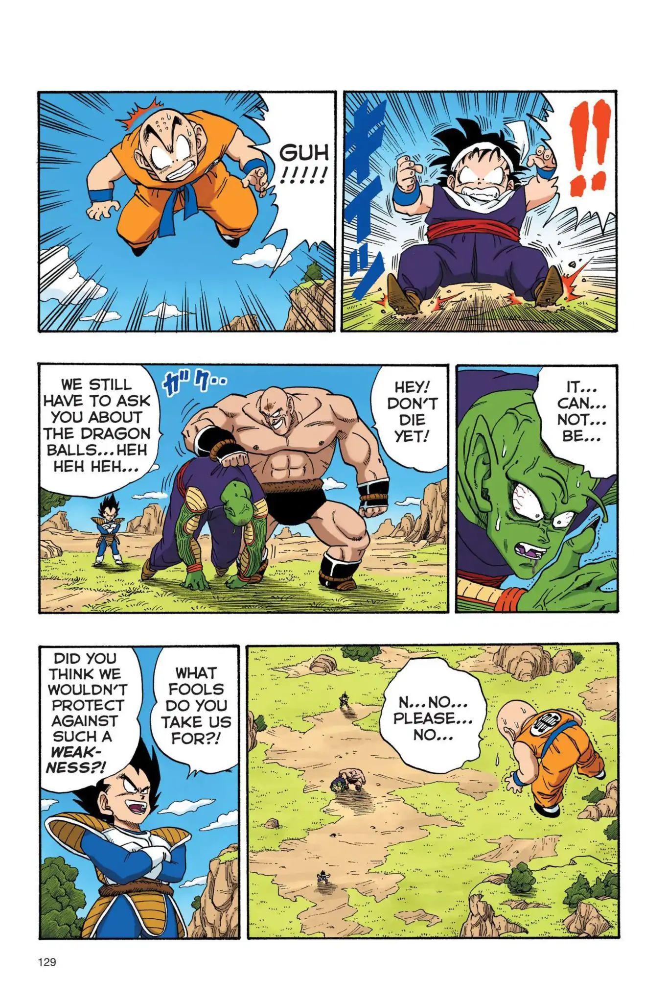Dragon Ball Full Color Saiyan Arc Chapter 26  Online Free Manga Read Image 14