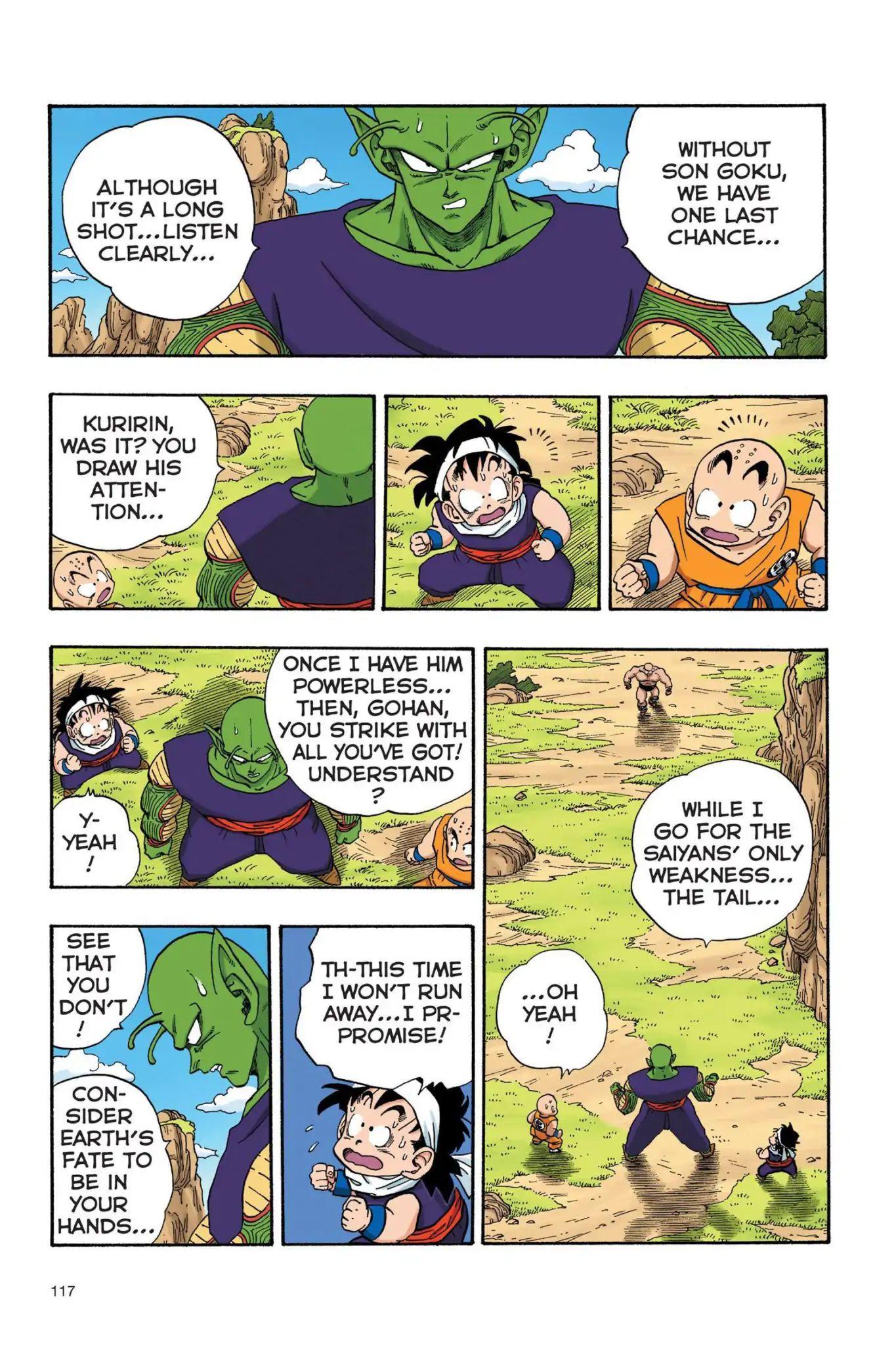 Dragon Ball Full Color Saiyan Arc Chapter 26  Online Free Manga Read Image 2