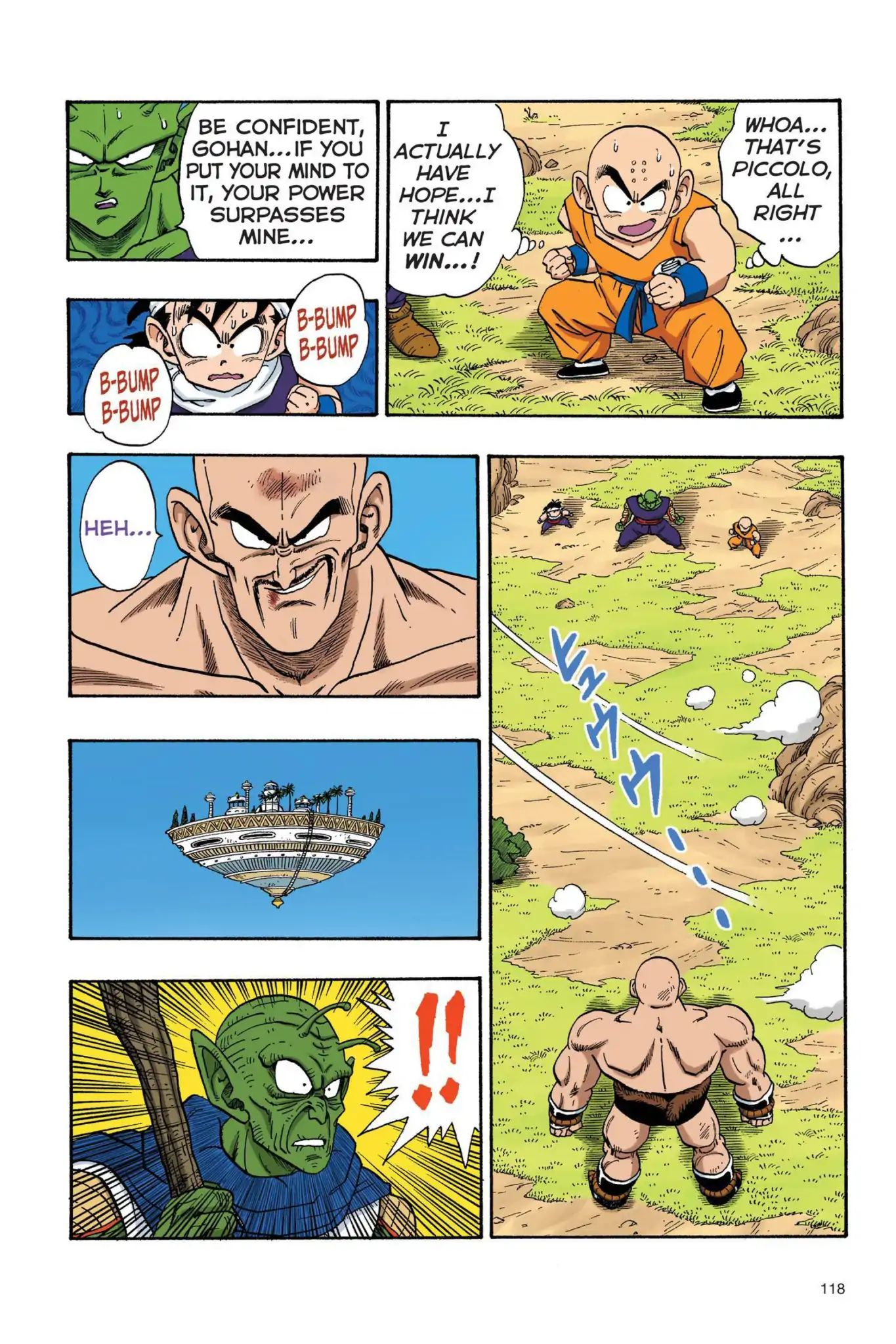 Dragon Ball Full Color Saiyan Arc Chapter 26  Online Free Manga Read Image 3