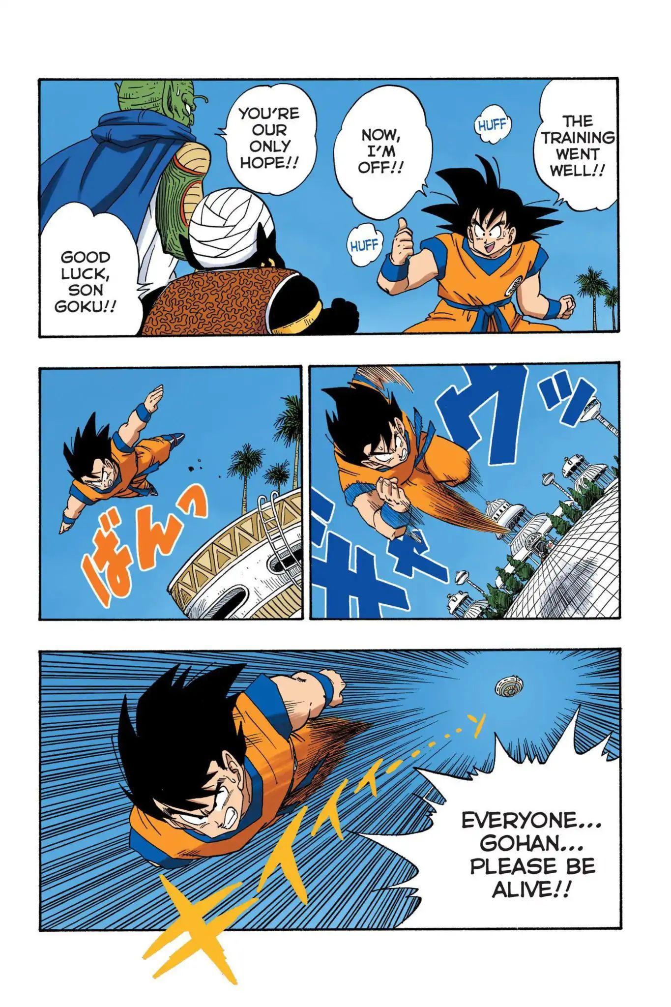 Dragon Ball Full Color Saiyan Arc Chapter 26  Online Free Manga Read Image 6