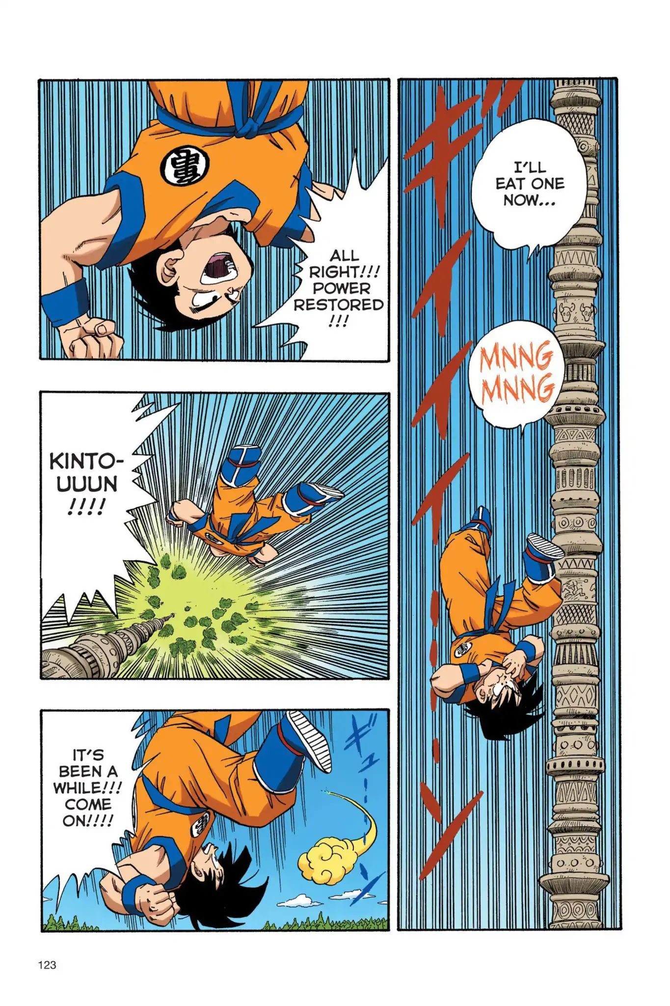 Dragon Ball Full Color Saiyan Arc Chapter 26  Online Free Manga Read Image 8