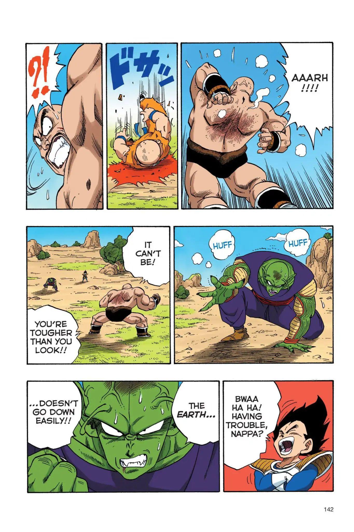 Dragon Ball Full Color Saiyan Arc Chapter 27  Online Free Manga Read Image 13