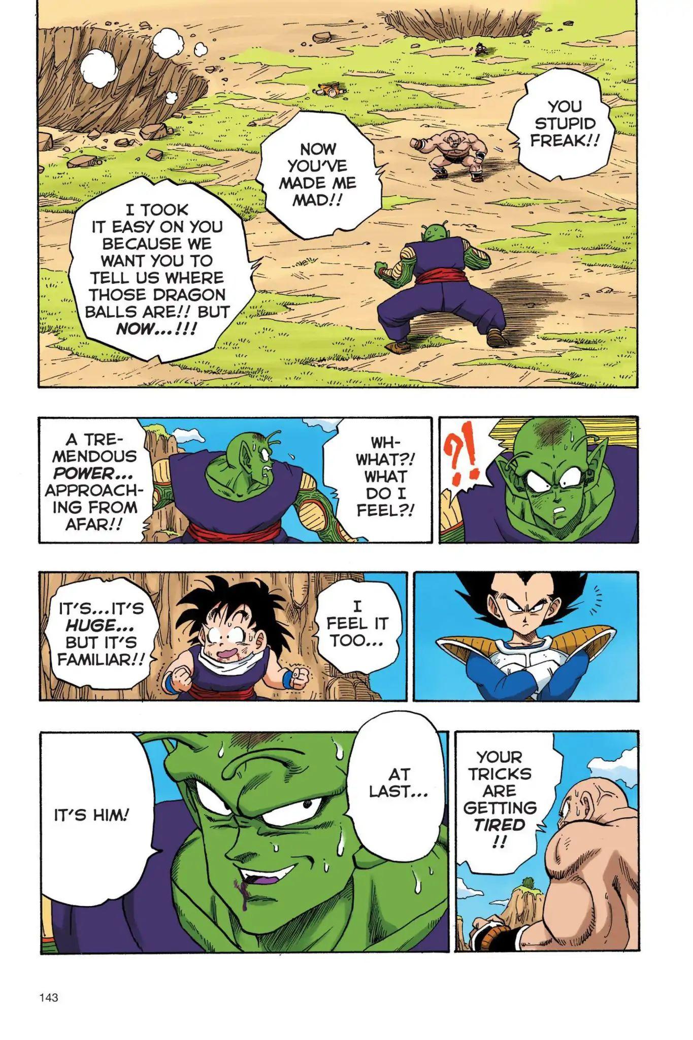Dragon Ball Full Color Saiyan Arc Chapter 27  Online Free Manga Read Image 14