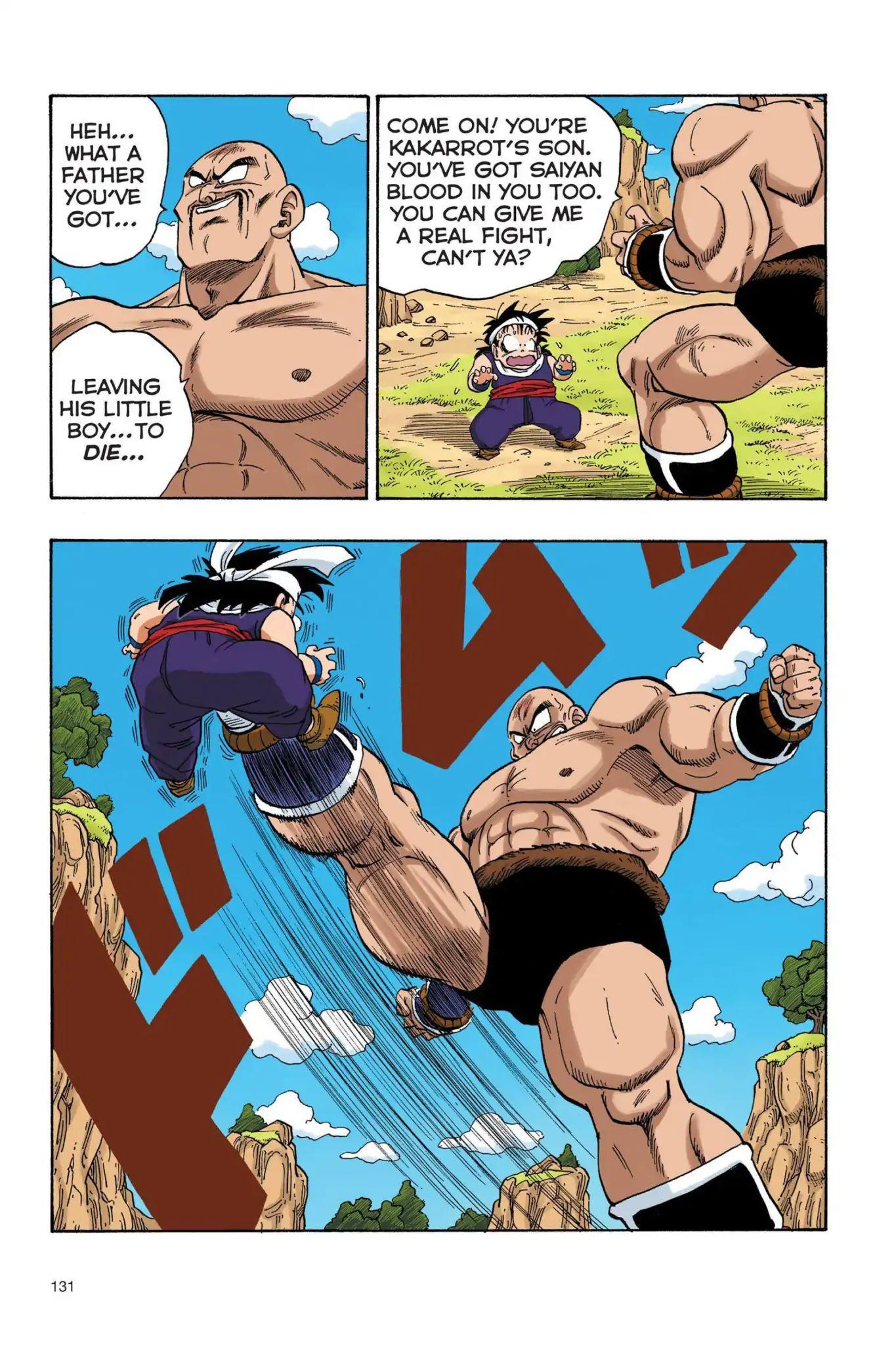 Dragon Ball Full Color Saiyan Arc Chapter 27  Online Free Manga Read Image 2