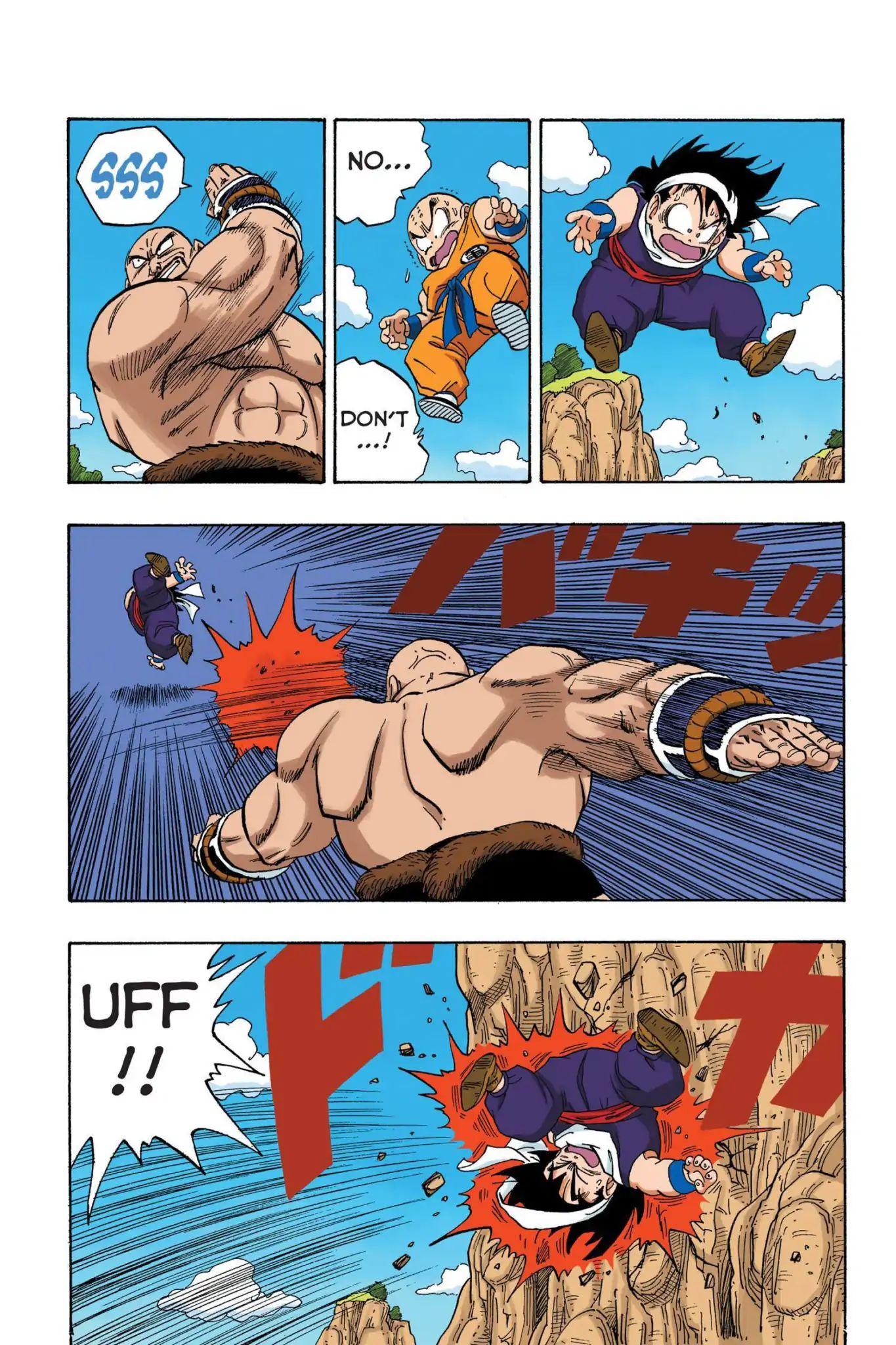 Dragon Ball Full Color Saiyan Arc Chapter 27  Online Free Manga Read Image 3