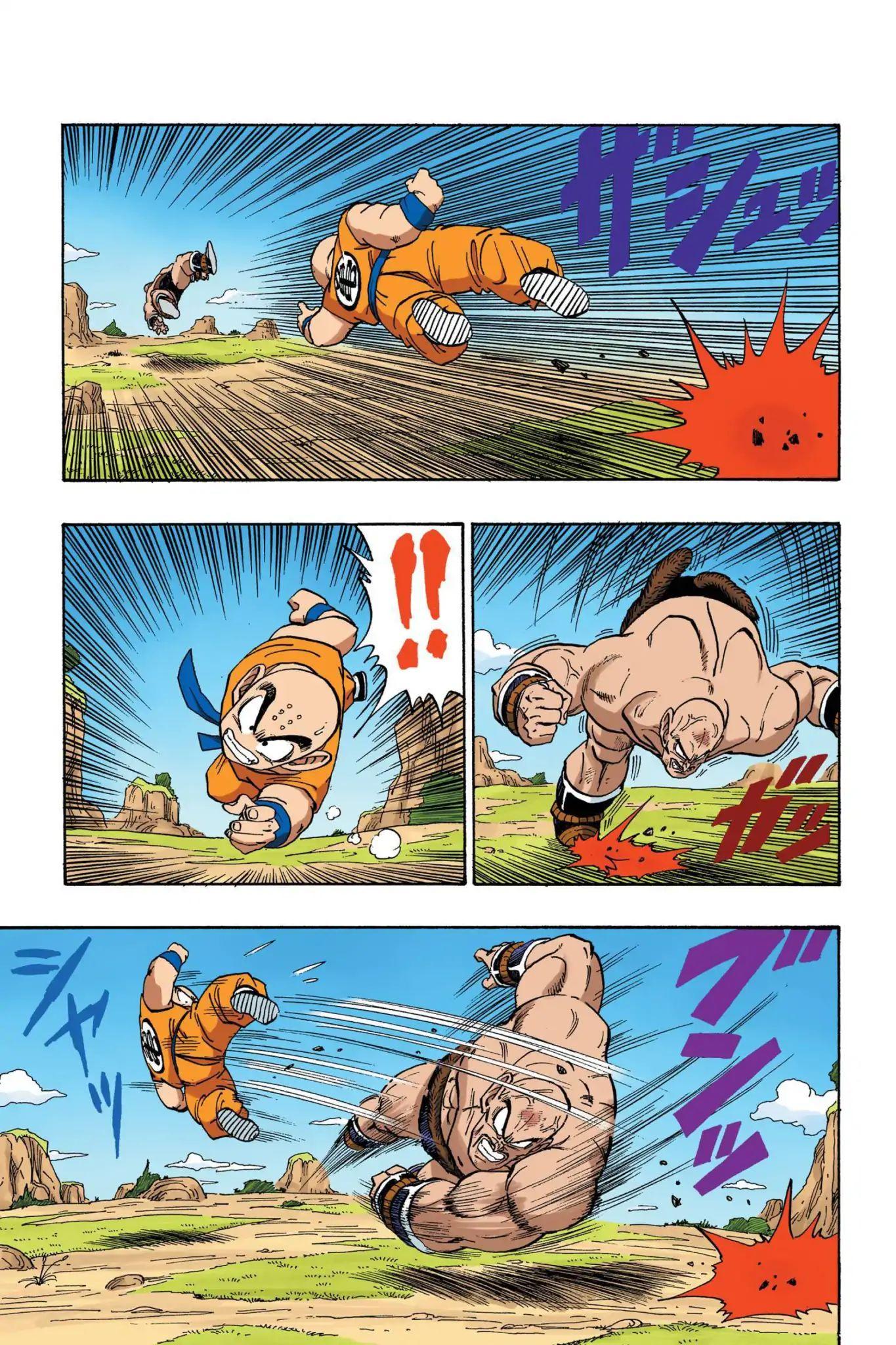 Dragon Ball Full Color Saiyan Arc Chapter 27  Online Free Manga Read Image 6