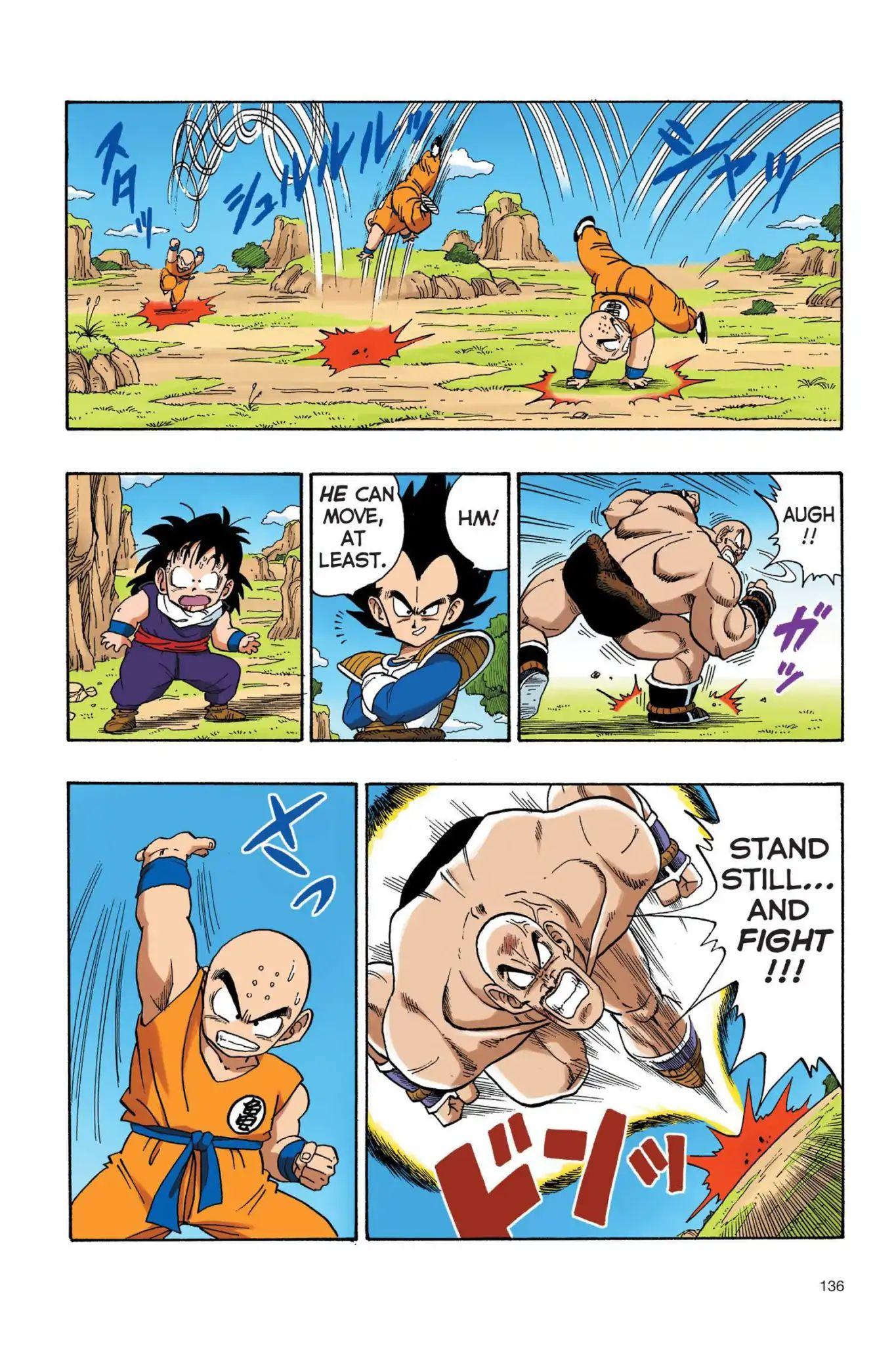 Dragon Ball Full Color Saiyan Arc Chapter 27  Online Free Manga Read Image 7