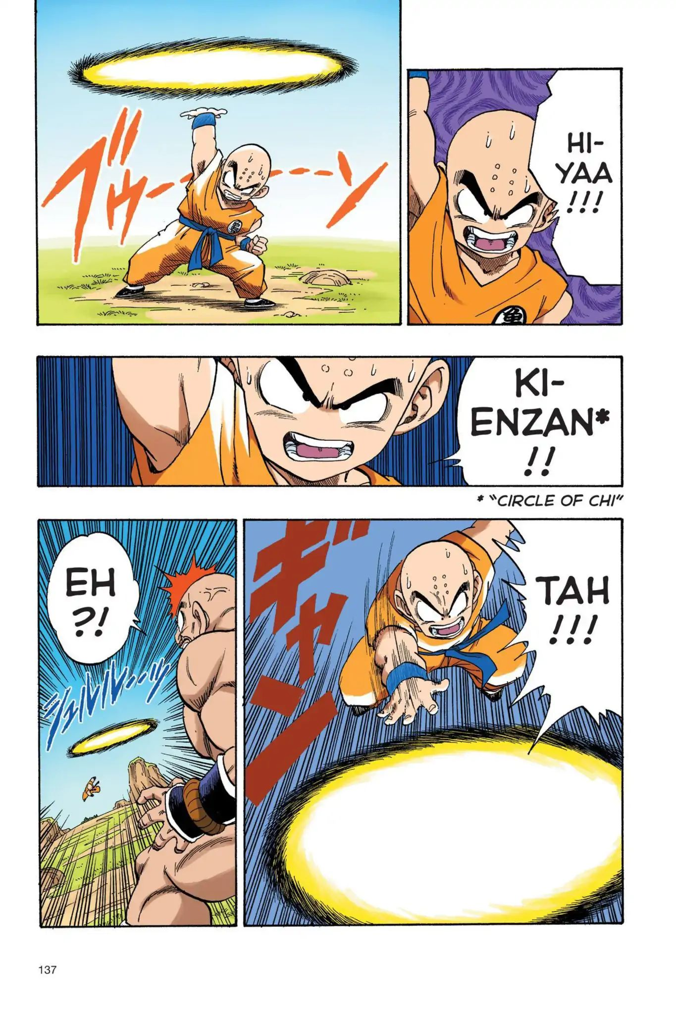 Dragon Ball Full Color Saiyan Arc Chapter 27  Online Free Manga Read Image 8