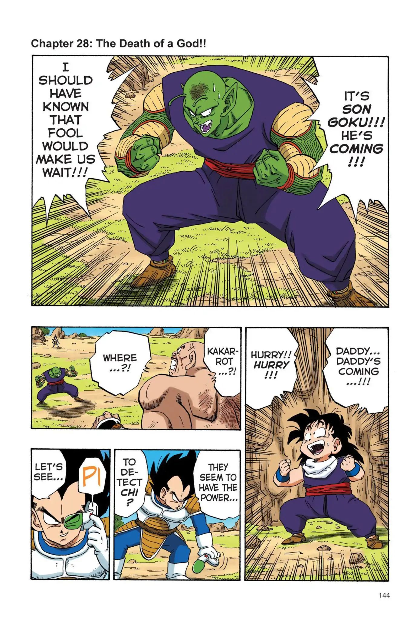 Dragon Ball Full Color Saiyan Arc Chapter 28  Online Free Manga Read Image 1