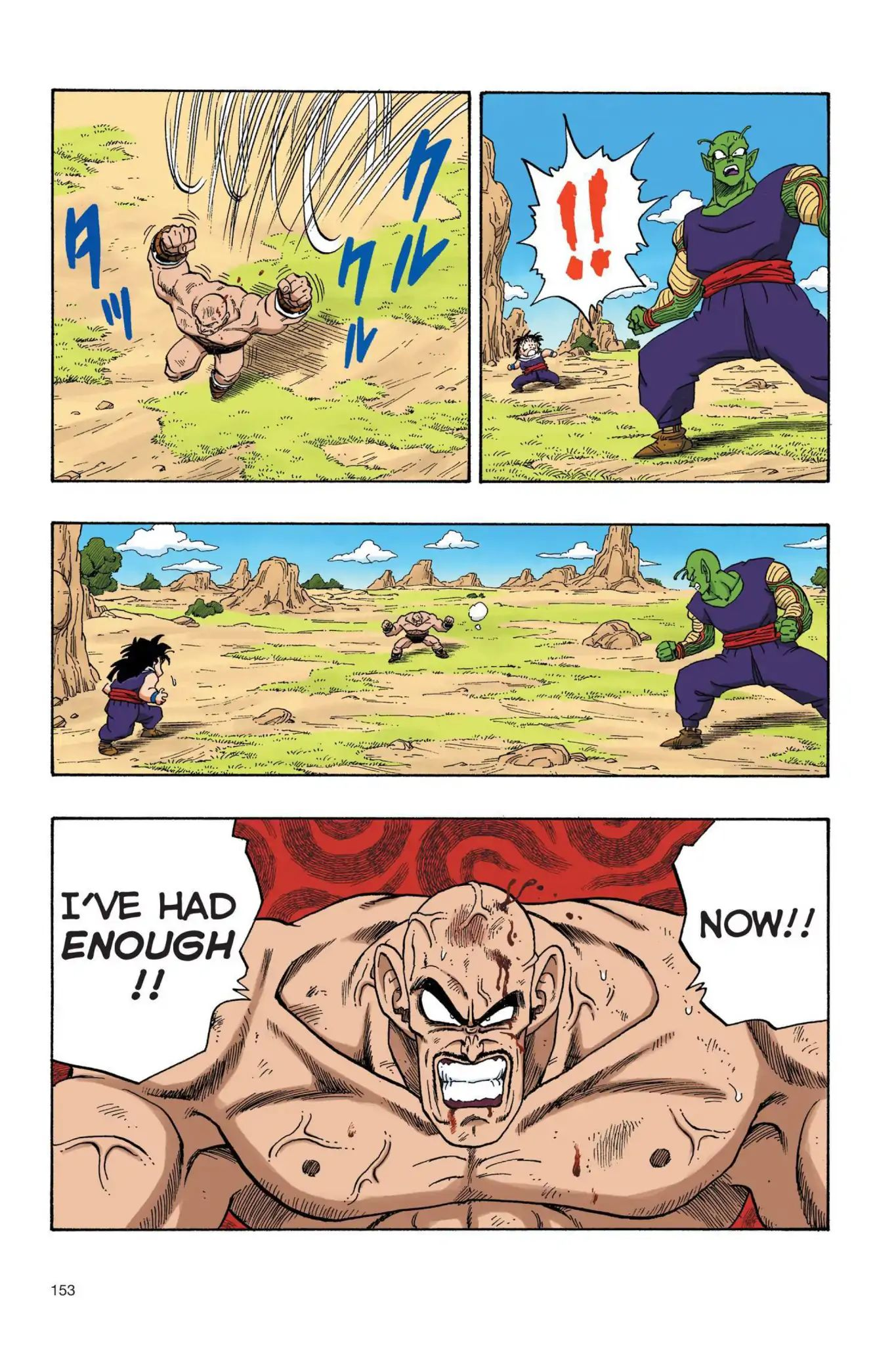 Dragon Ball Full Color Saiyan Arc Chapter 28  Online Free Manga Read Image 10