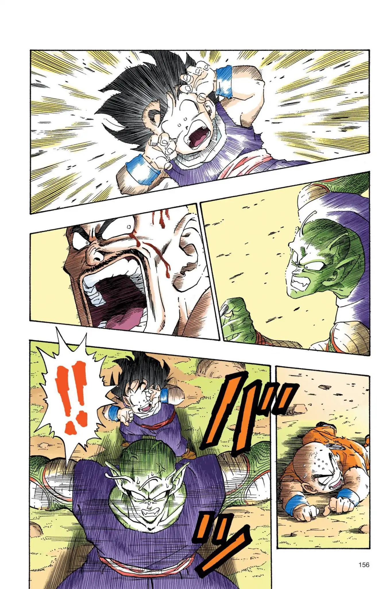 Dragon Ball Full Color Saiyan Arc Chapter 28  Online Free Manga Read Image 13