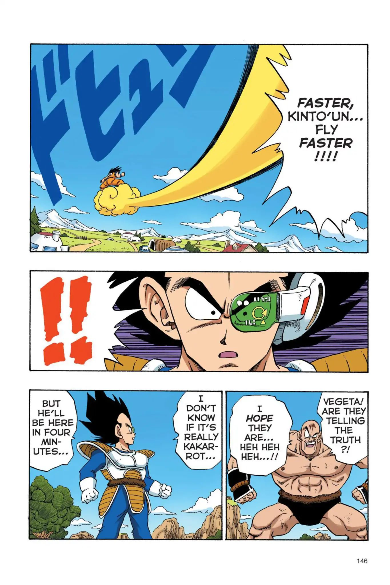 Dragon Ball Full Color Saiyan Arc Chapter 28  Online Free Manga Read Image 3