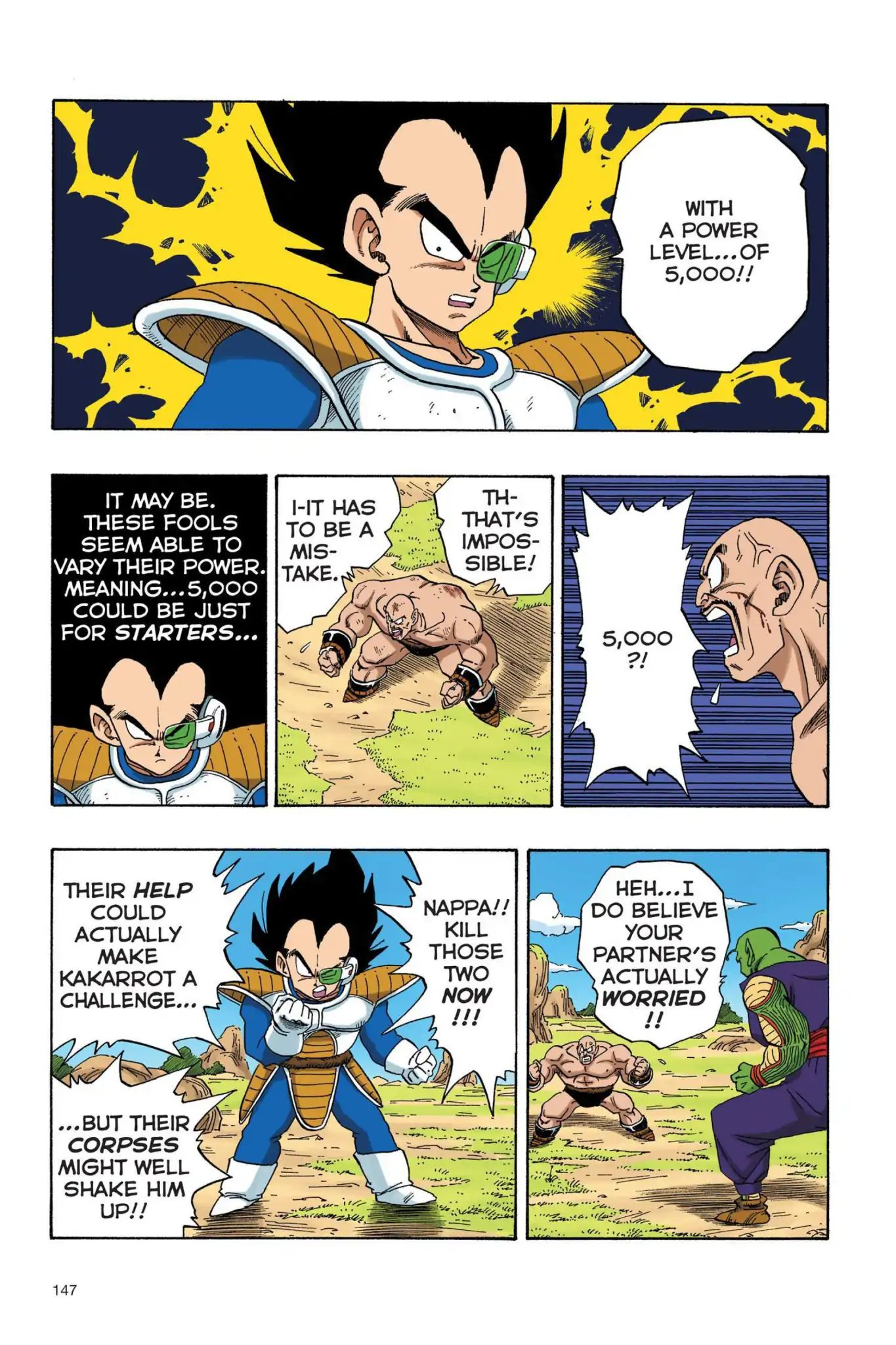 Dragon Ball Full Color Saiyan Arc Chapter 28  Online Free Manga Read Image 4