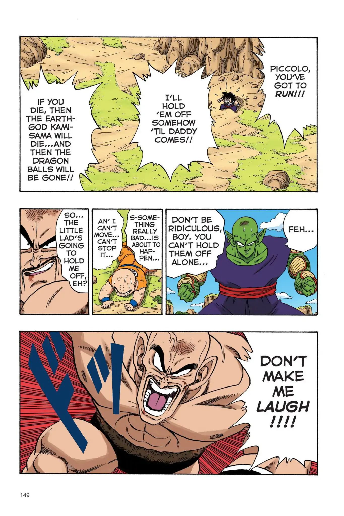 Dragon Ball Full Color Saiyan Arc Chapter 28  Online Free Manga Read Image 6