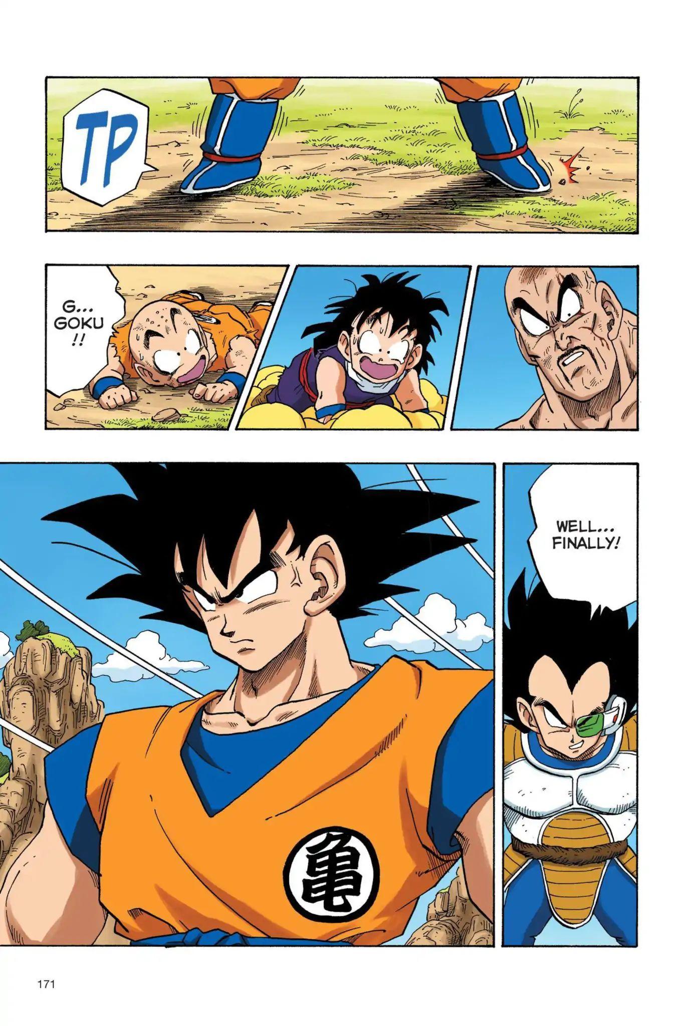 Dragon Ball Full Color Saiyan Arc Chapter 29  Online Free Manga Read Image 14
