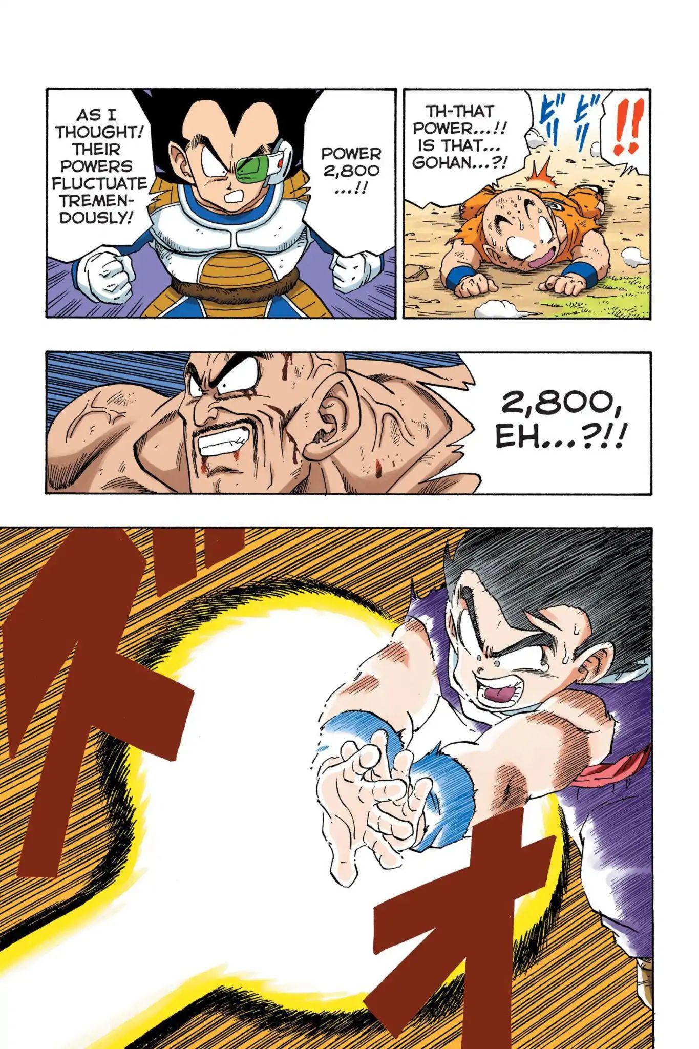 Dragon Ball Full Color Saiyan Arc Chapter 29  Online Free Manga Read Image 8