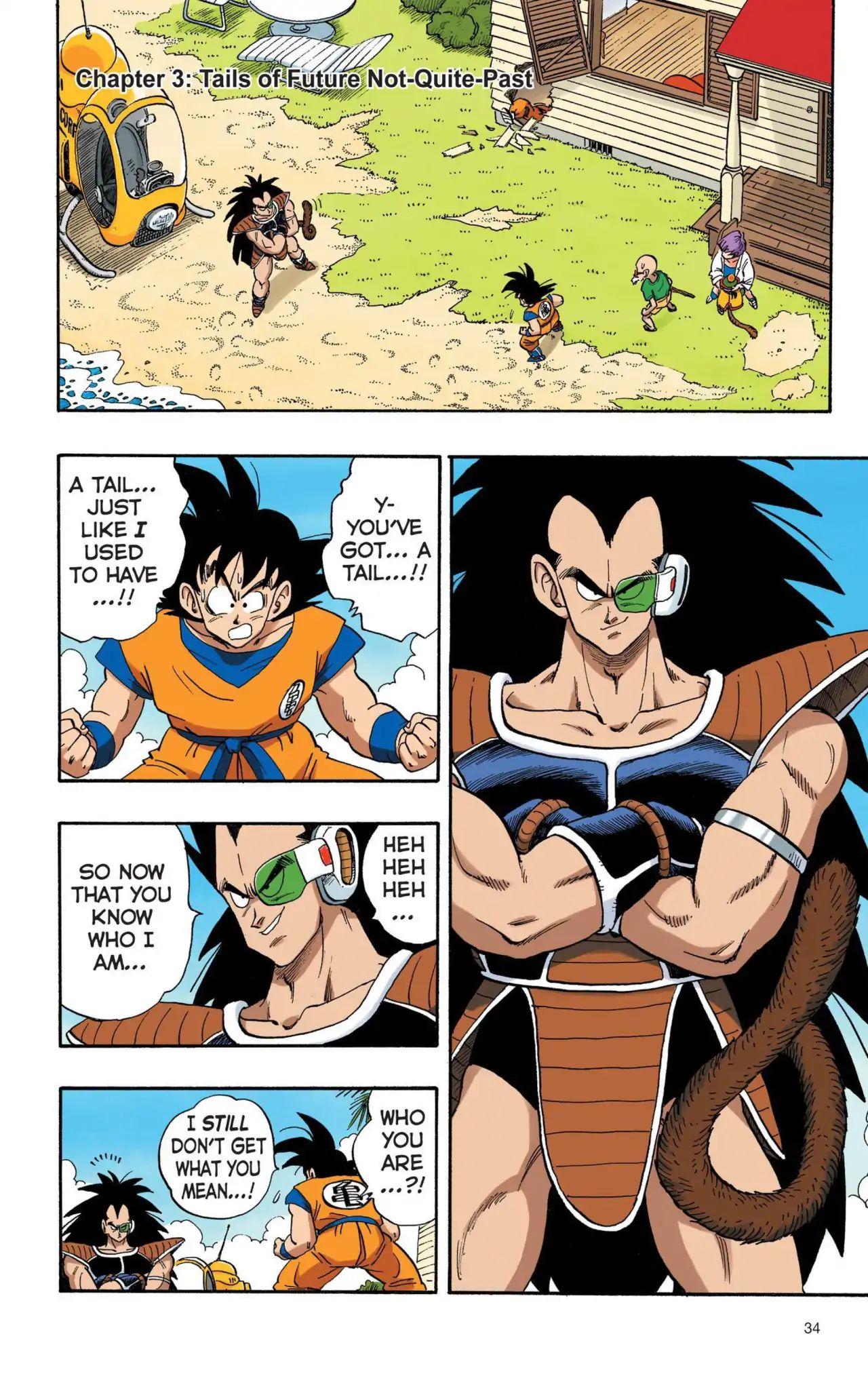 Dragon Ball Full Color Saiyan Arc Chapter 3  Online Free Manga Read Image 1