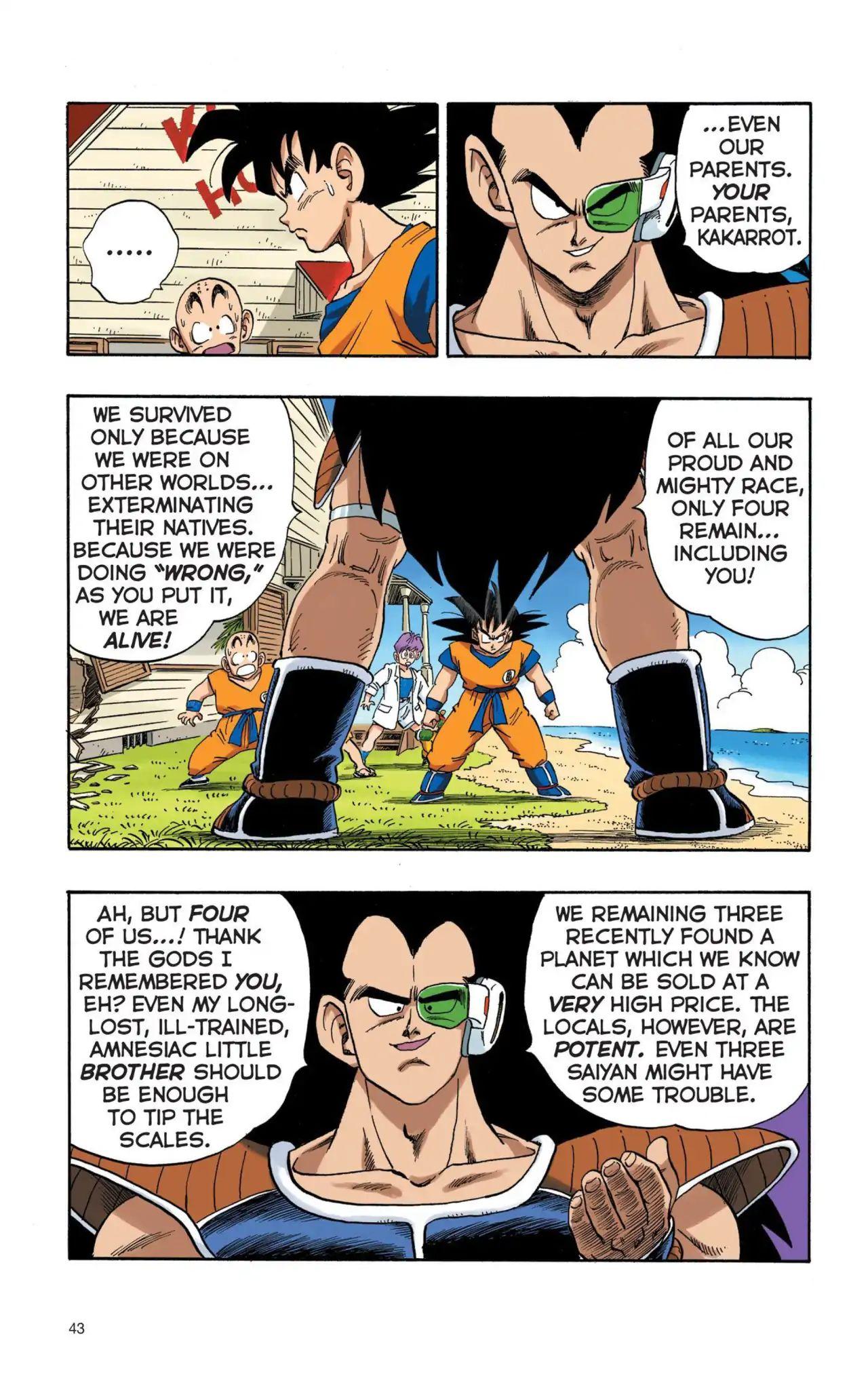 Dragon Ball Full Color Saiyan Arc Chapter 3  Online Free Manga Read Image 10